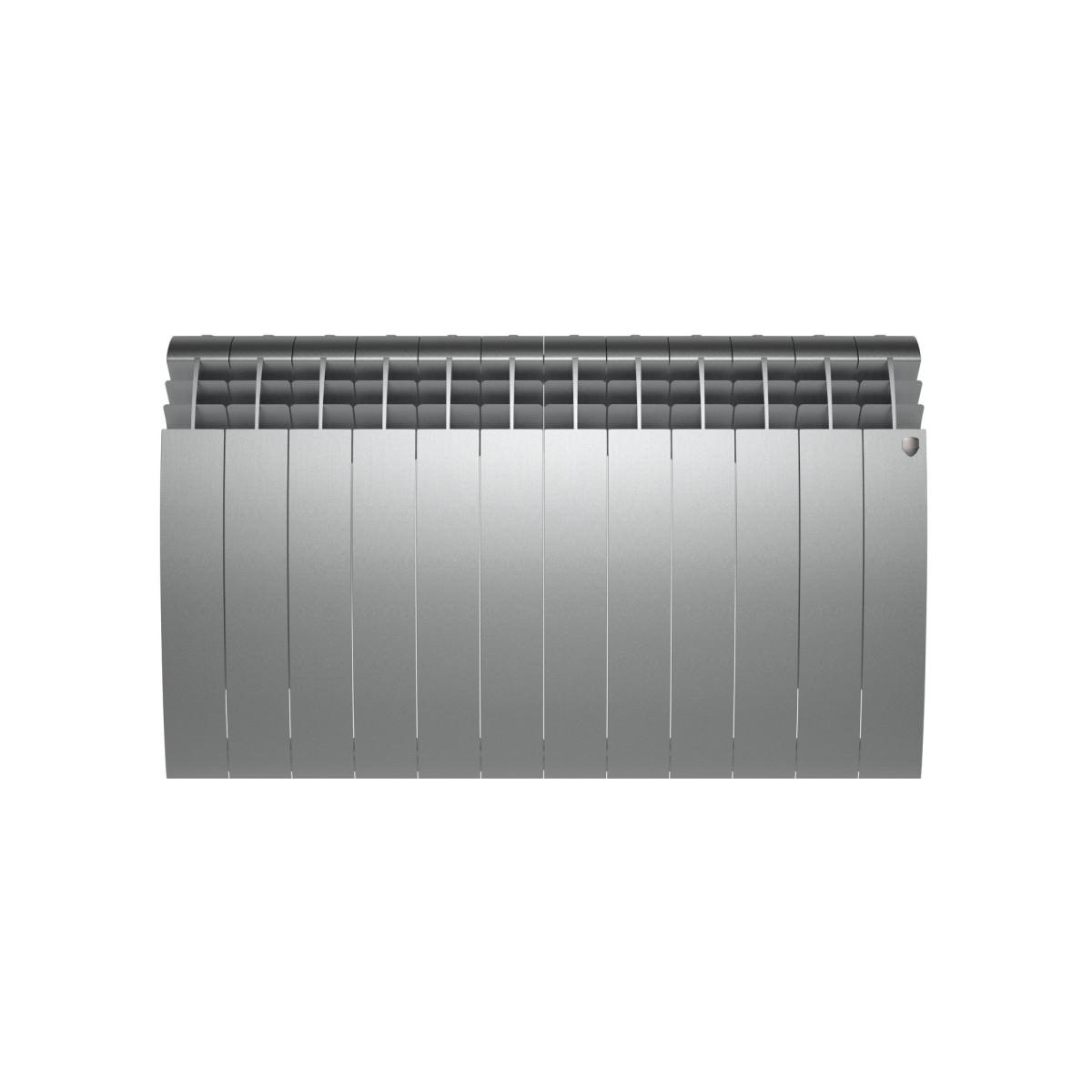 Радиатор Royal Thermo BiLiner 500 12 секций Silver Satin