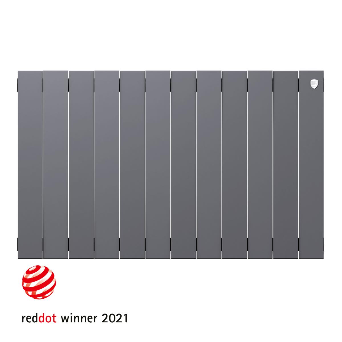 Радиатор Royal Thermo PianoForte 500 12 секций Silver Satin