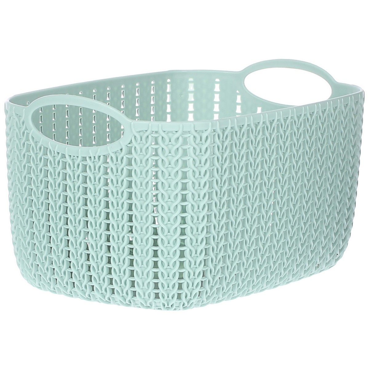 Корзина для хранения Вязание 4 л цвет фисташковый