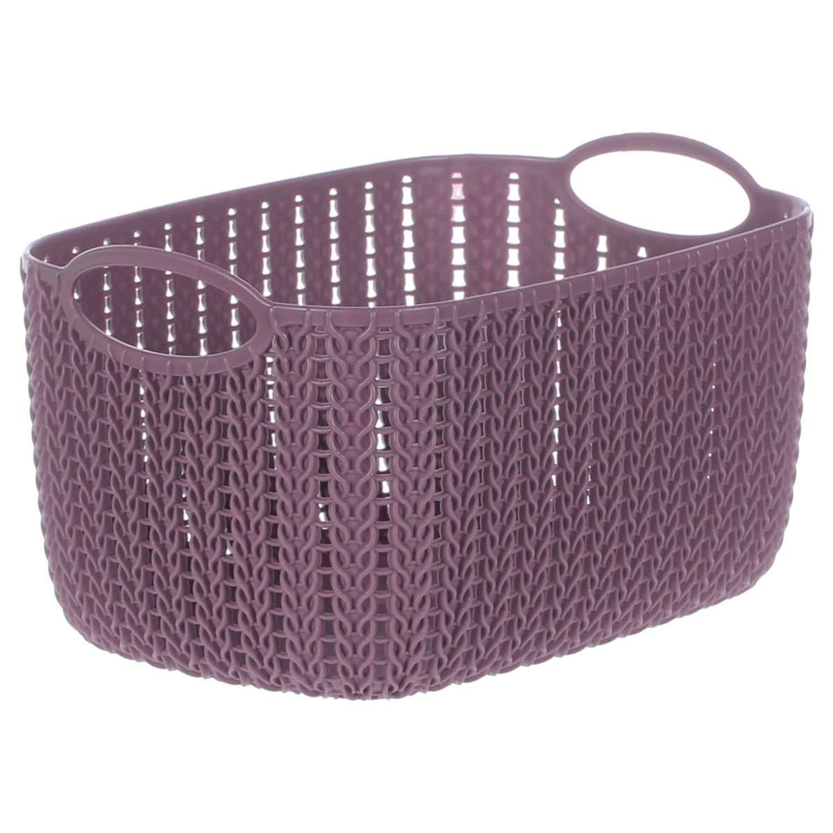 Корзина для хранения Вязание 4 л цвет пурпурный