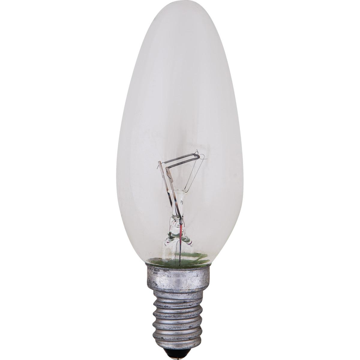 Лампа накаливания Radium Свеча E14 40 Вт прозрачная колба