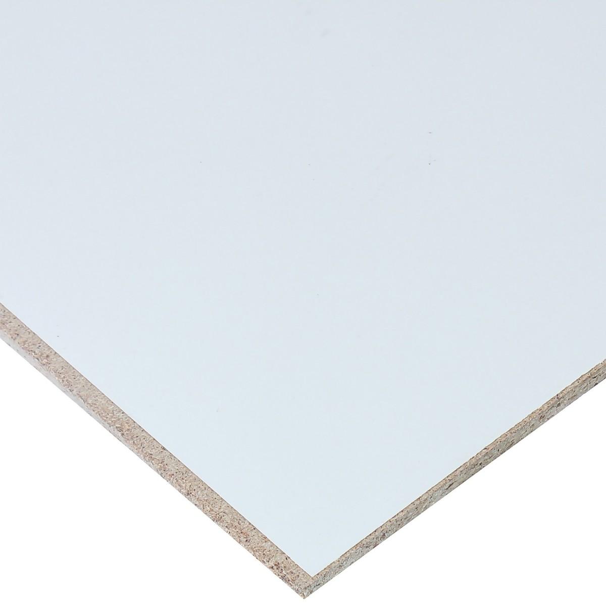 Стеновая панель №1000 244х65.5х0.6 см МДФ цвет матовый белый