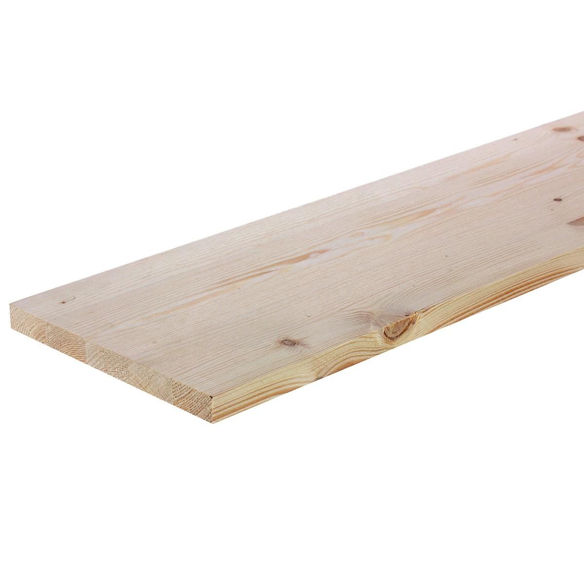Мебельный щит 1200х200х18 мм хвоя сорт экстра