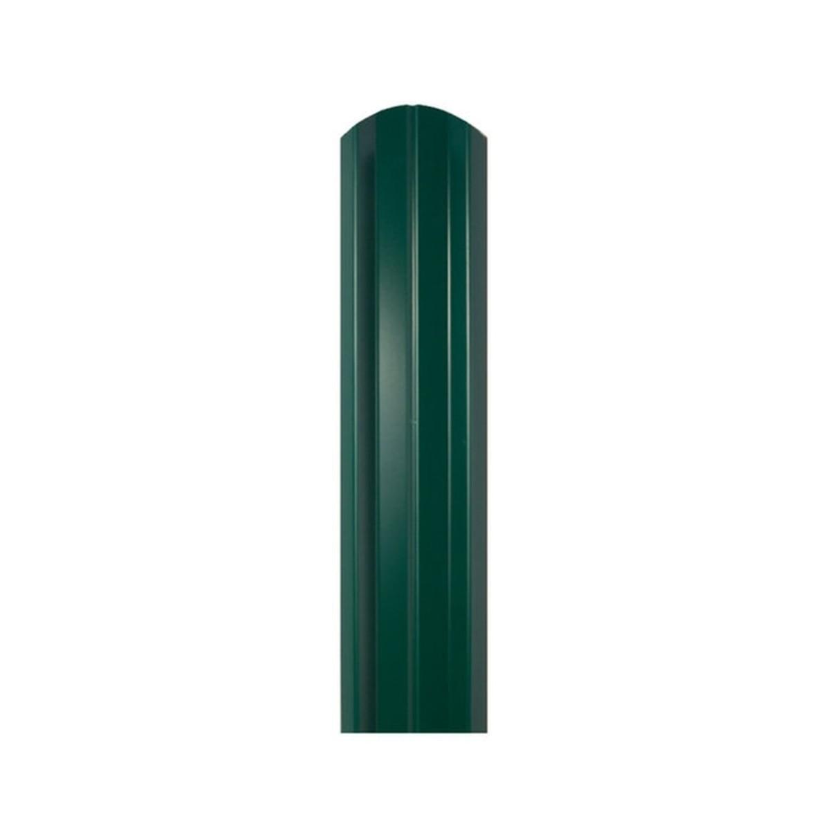 Штакетник односторонний ЭКО-М 76мм 1.5 м 6005 зеленый