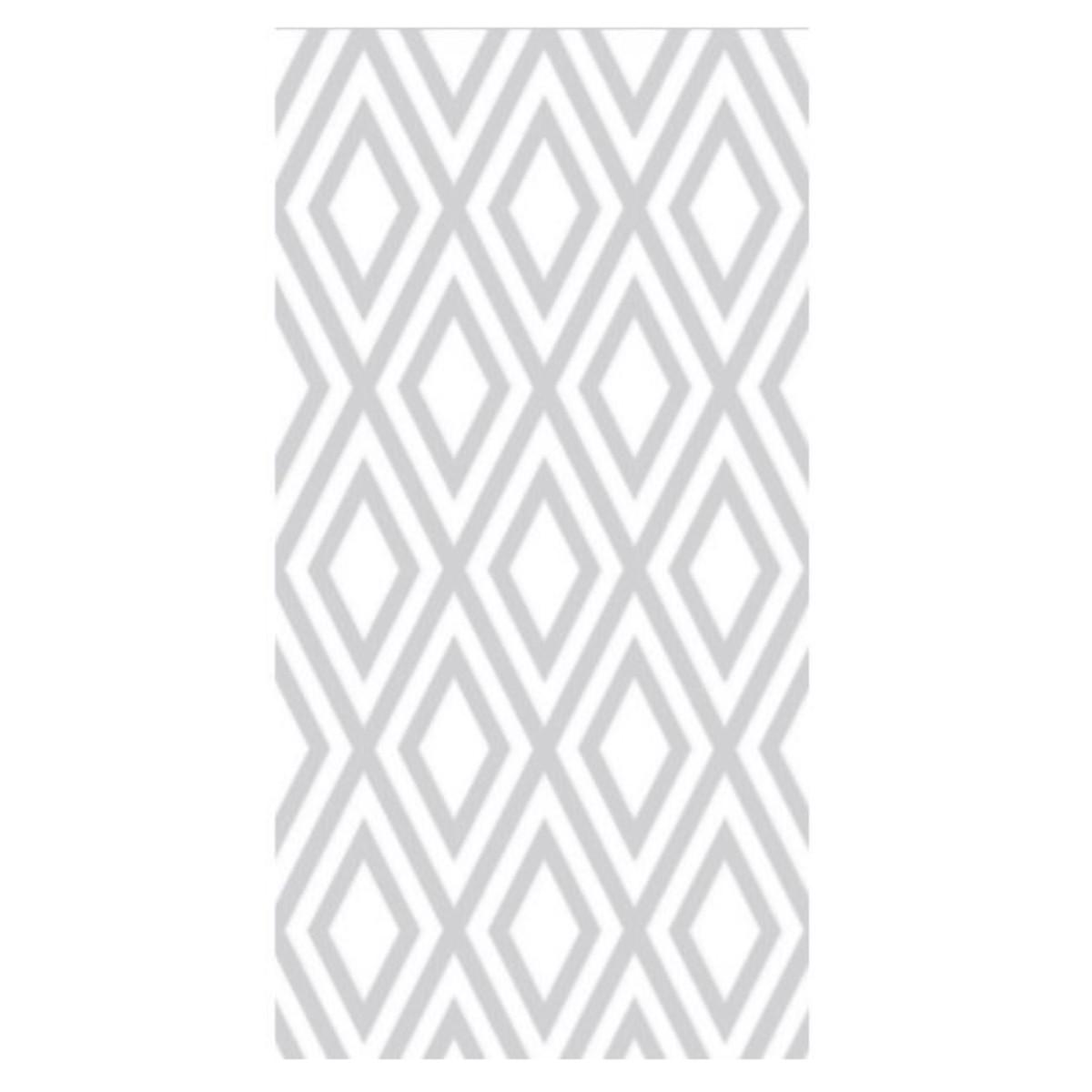 Плитка настенная Флорис 50x25 см 1 м² цвет белый