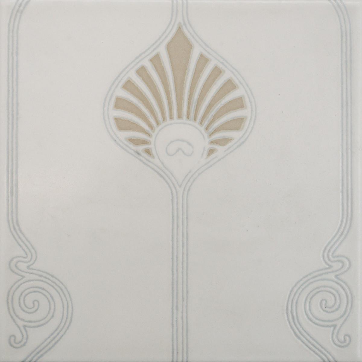 Плитка настенная Мемо Флора пашмин 20x20 см 0.8 м² цвет оливковый