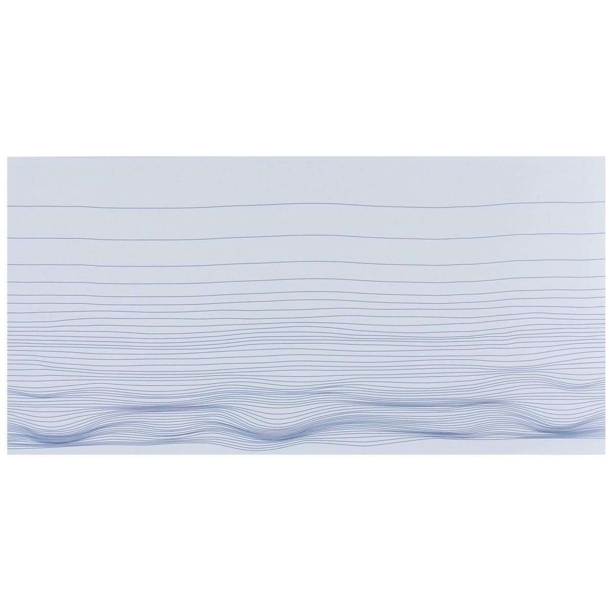 Декор «Марис Волны» 30х60 см цвет белый