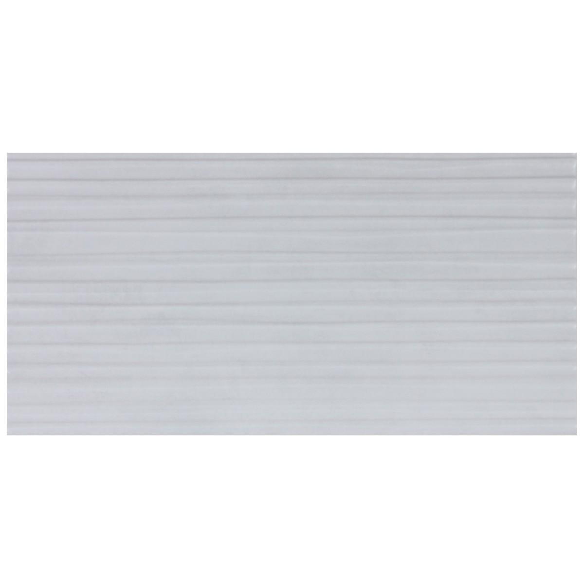 Плитка настенная Новус Рельефо 30х60 см 1.62 м² цвет белый