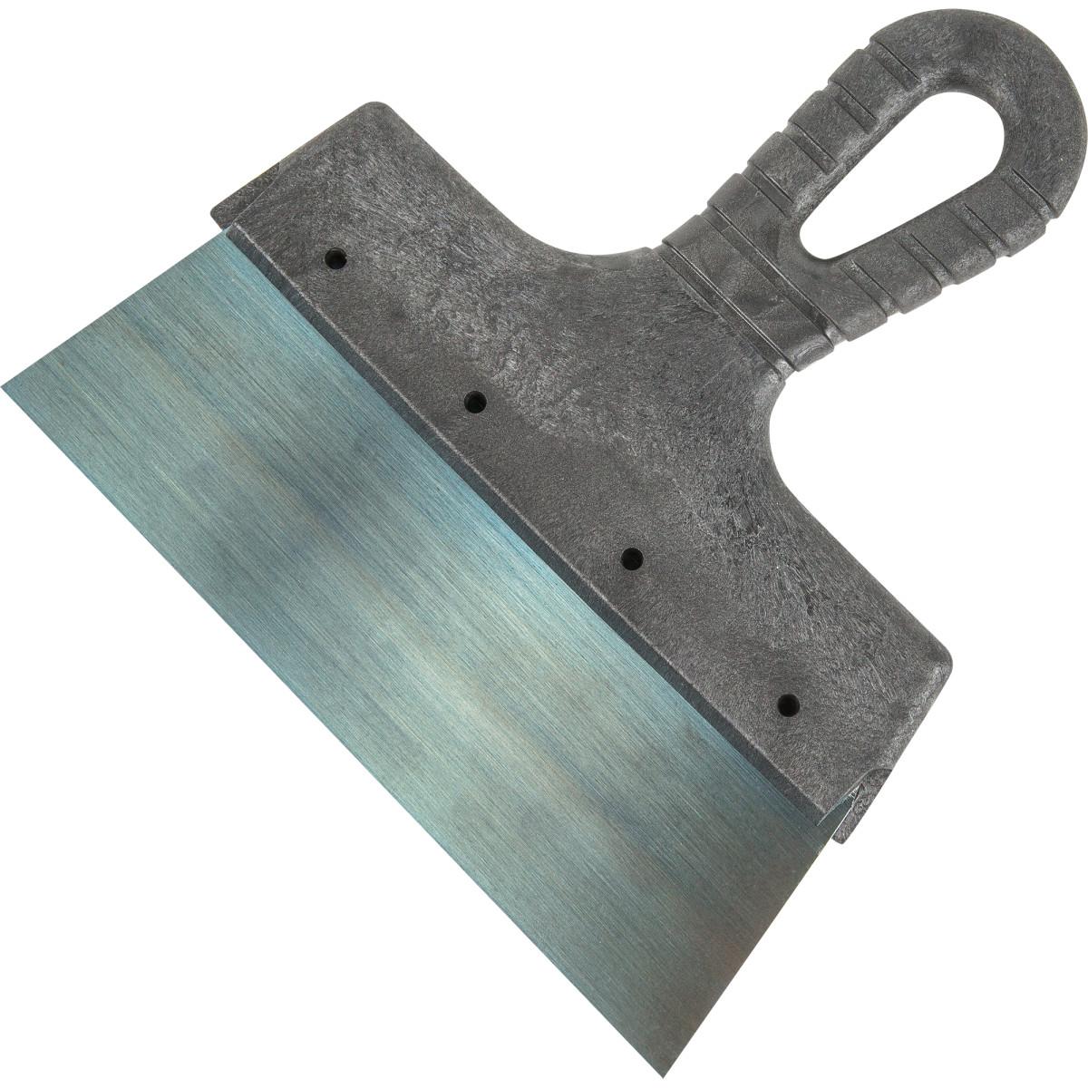 Шпатель 200 мм оксидированная сталь пластиковая ручка