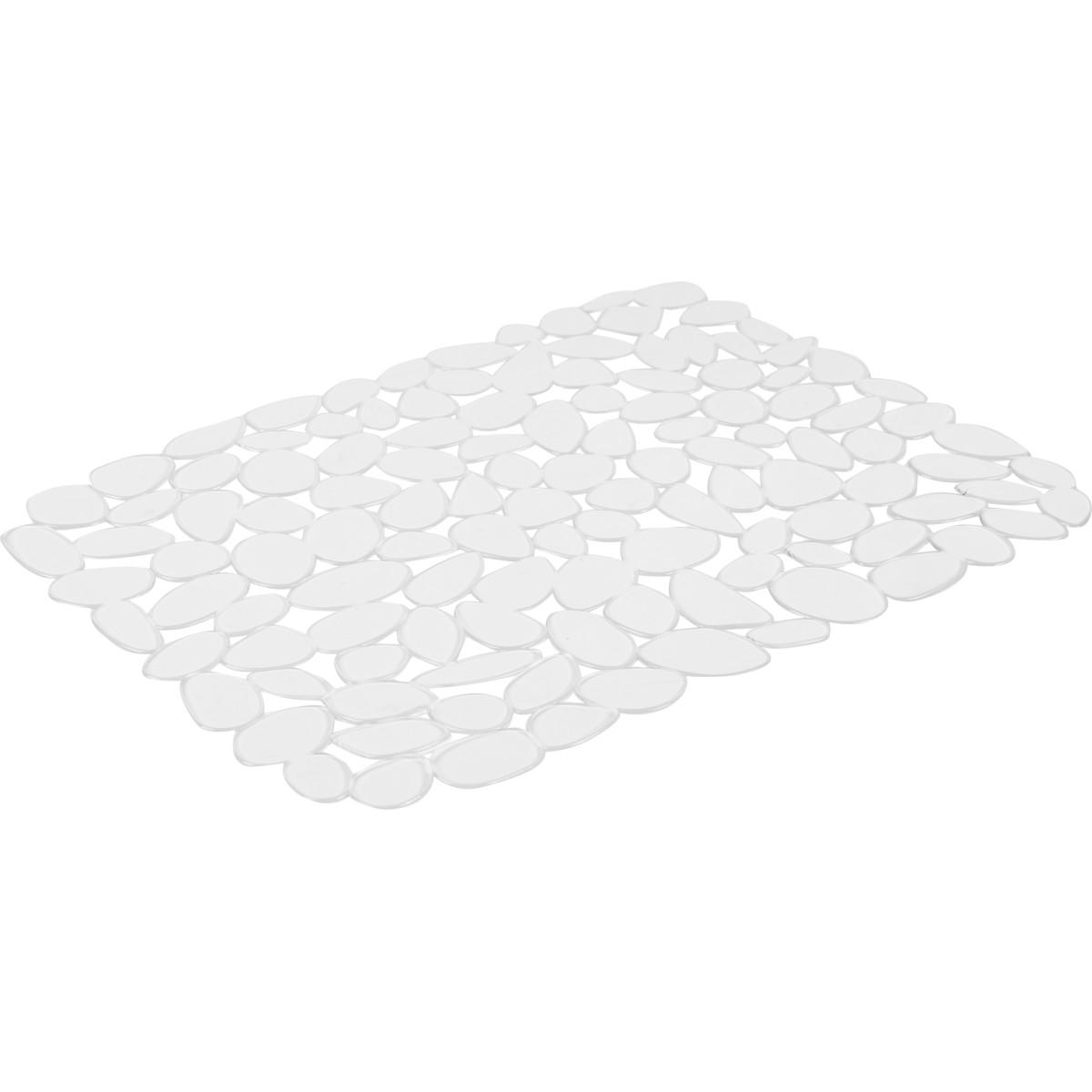 Коврик для мойки Delinia 40х30.5 см силикон цвет прозрачный
