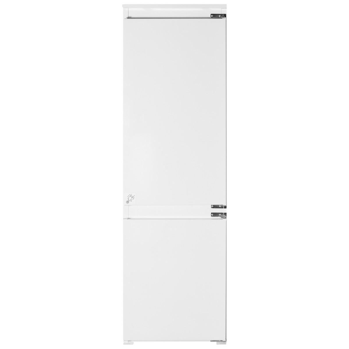 Холодильник встраиваемый двухкамерный HOTPOINT Ariston BCB 70301 AA (RU) 177х54 см нержавеющая сталь