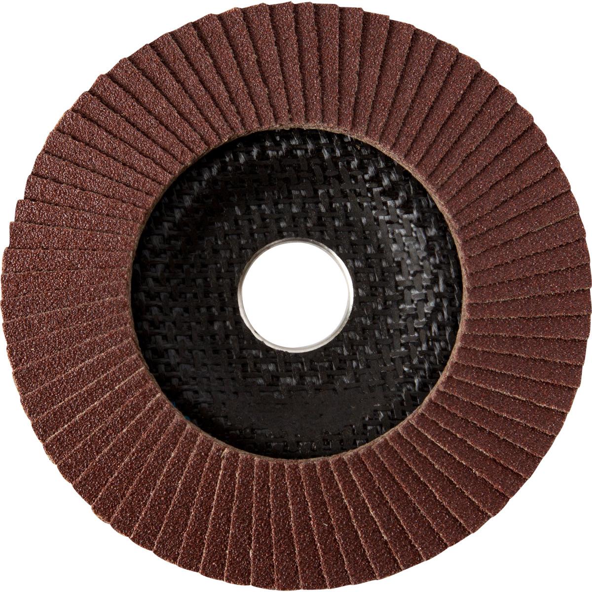 Диск лепестковый универсальный Dexter Р80 125 мм