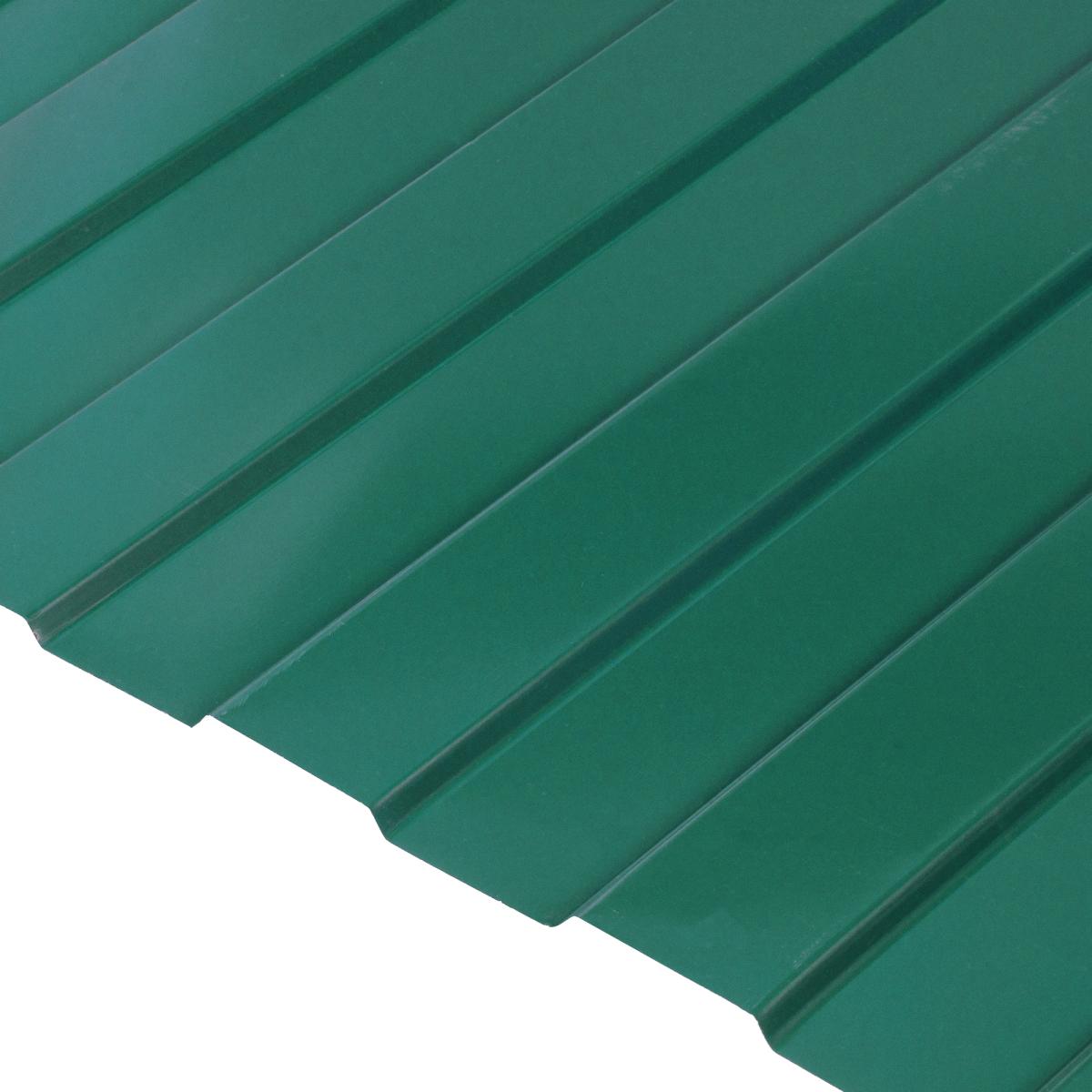 Профнастил С8 0.45 мм 1200х2000 мм зеленый RAL 6005