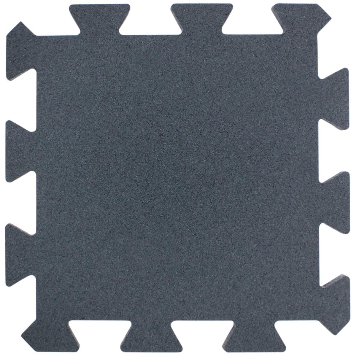 Плитка-пазл резиновая 50Х50Х2.5 см цвет серый