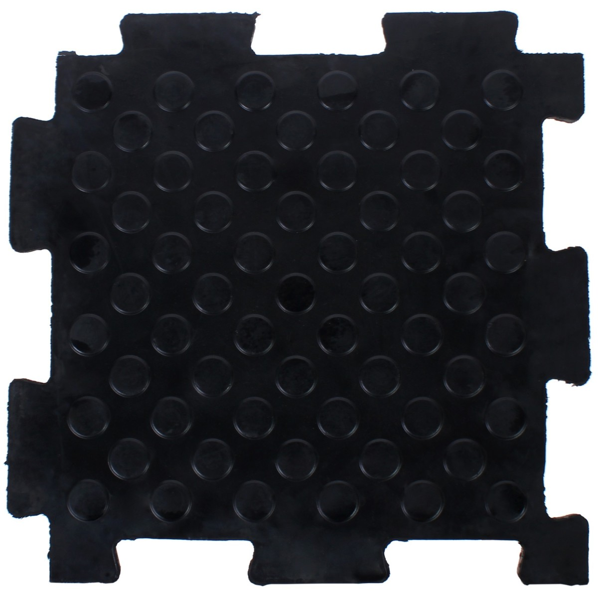 Плитка-пазл резиновая литая 50Х50Х2 см