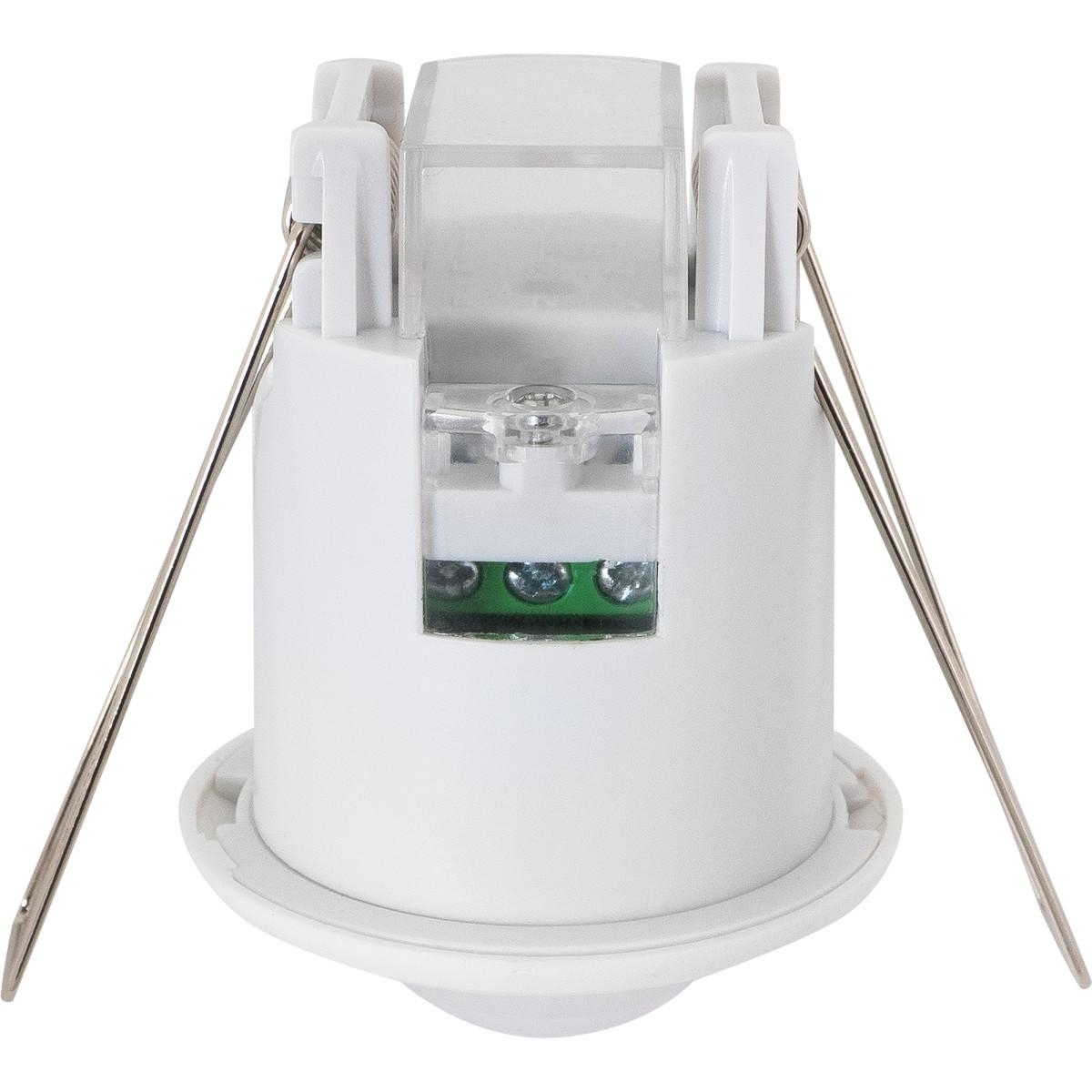 Датчик движения встраиваемый Mini потолочный радиус действия 3 м 800 Вт цвет белый IP20