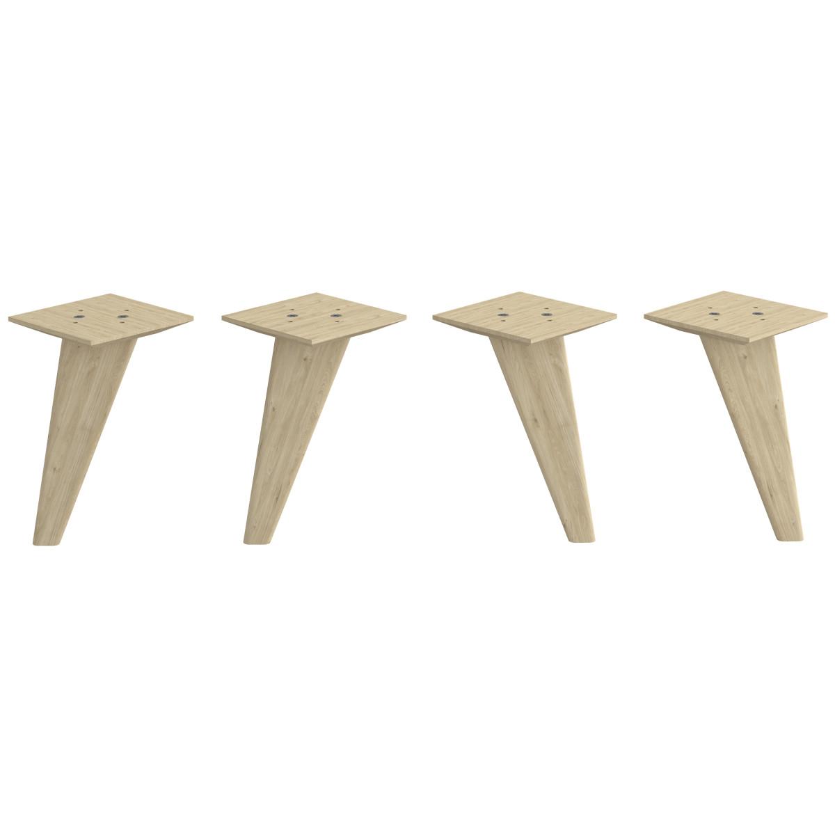 Набор ножек мебельных Spaceo KUB 4 шт