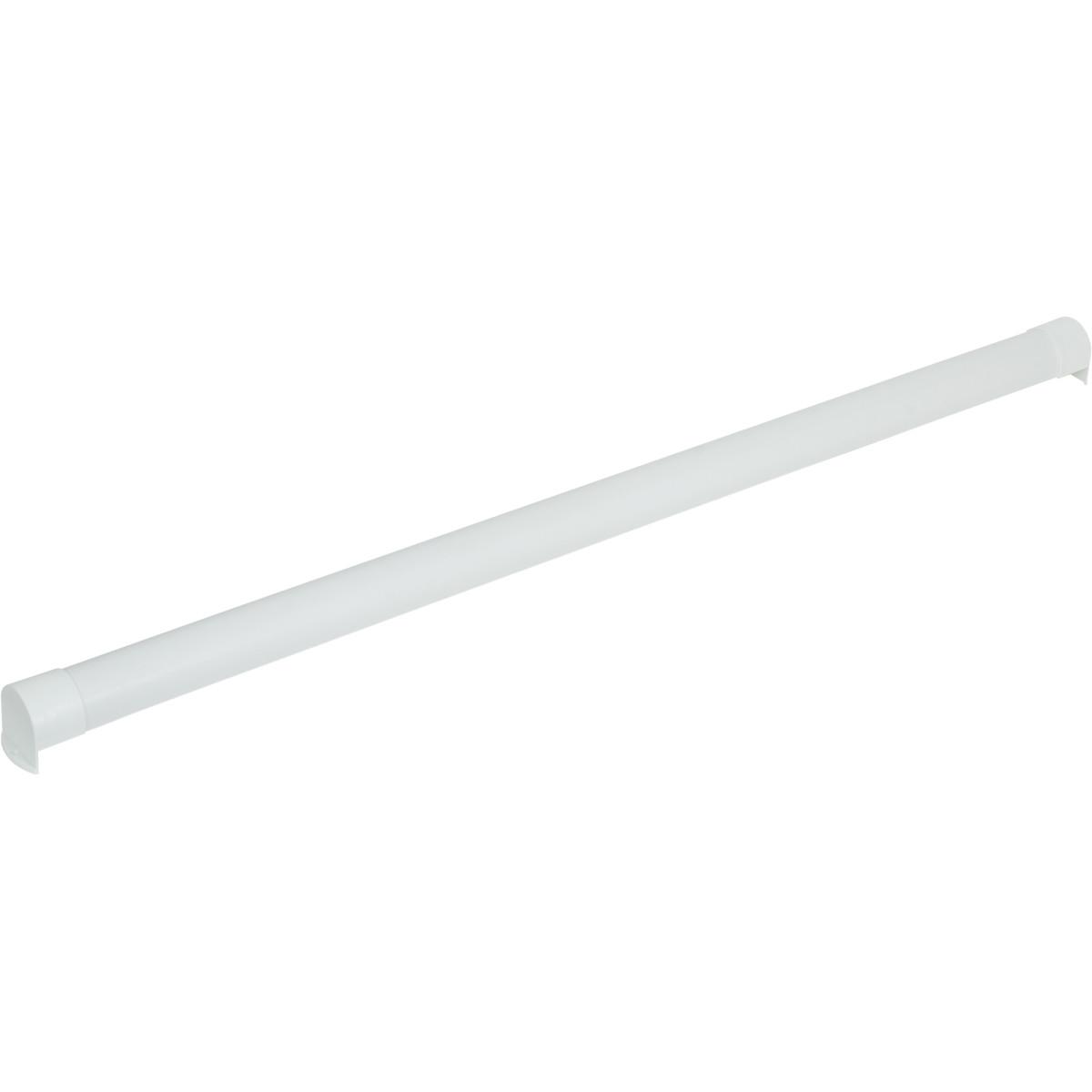 Короб для рулонной шторы ПВХ цвет белый