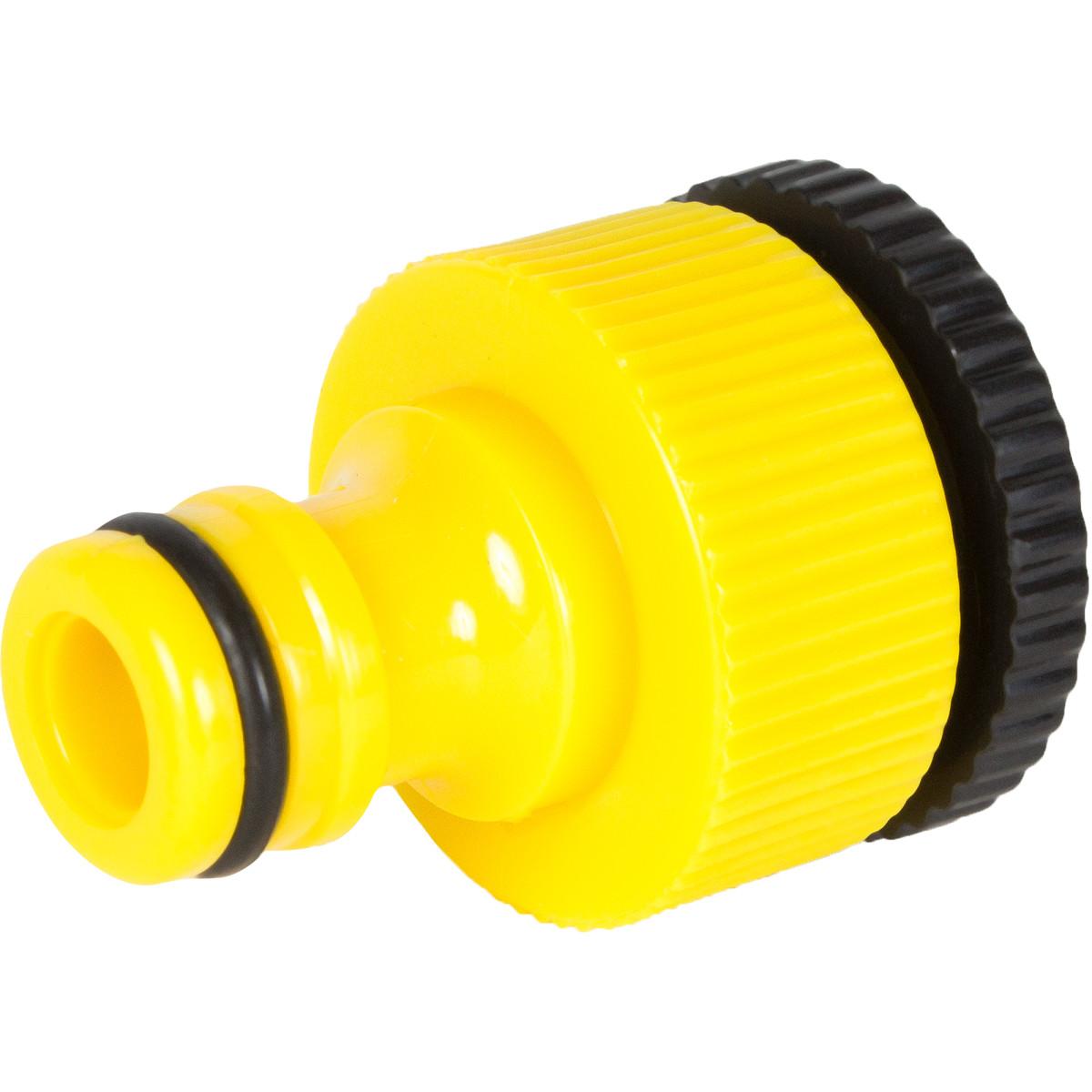 Адаптер на кран быстрого соединения 1/2-3/4 дюйма.