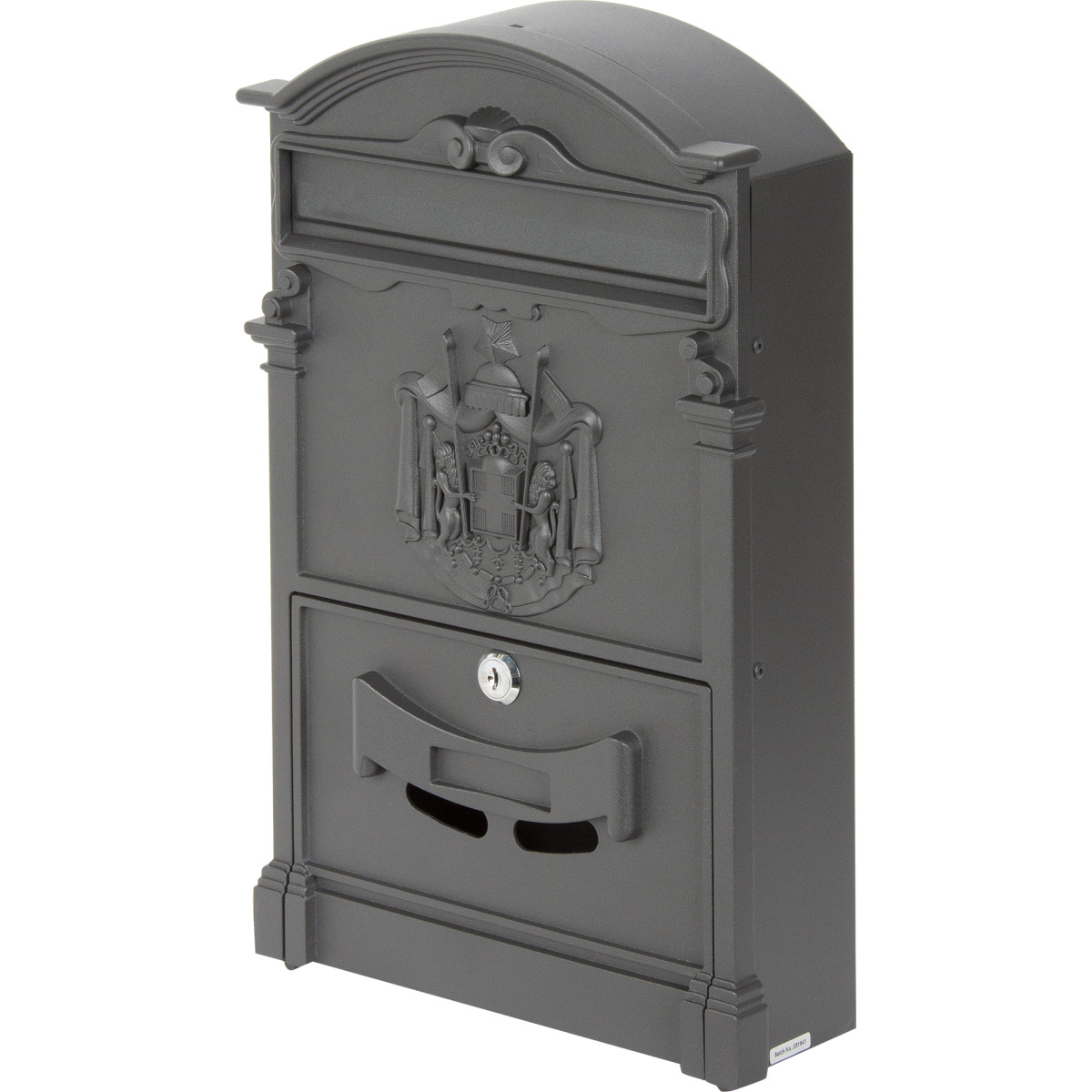 Ящик почтовый Standers цвет черный