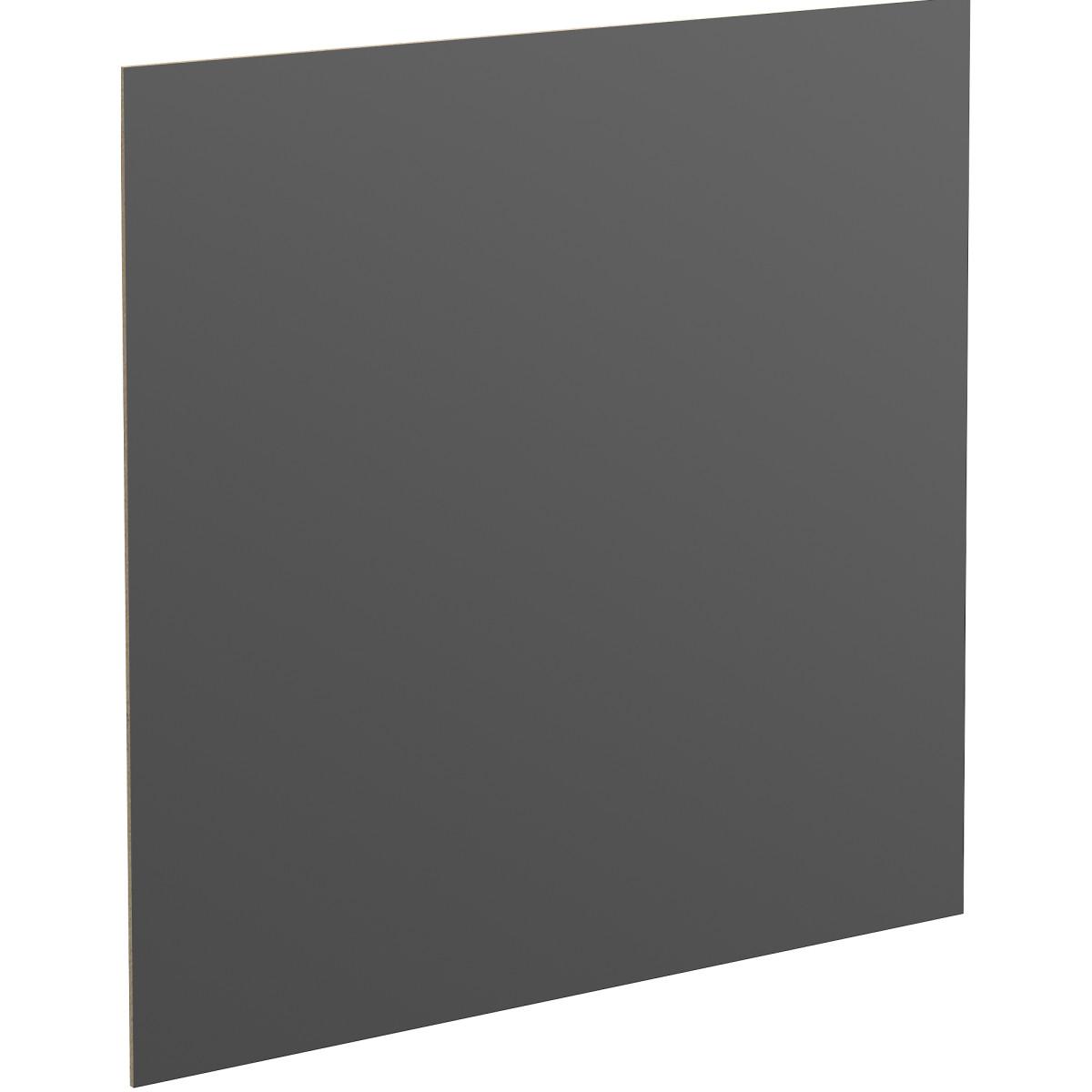 Задняя стенка SPACEO KUB 44х35.8 см МДФ цвет черный
