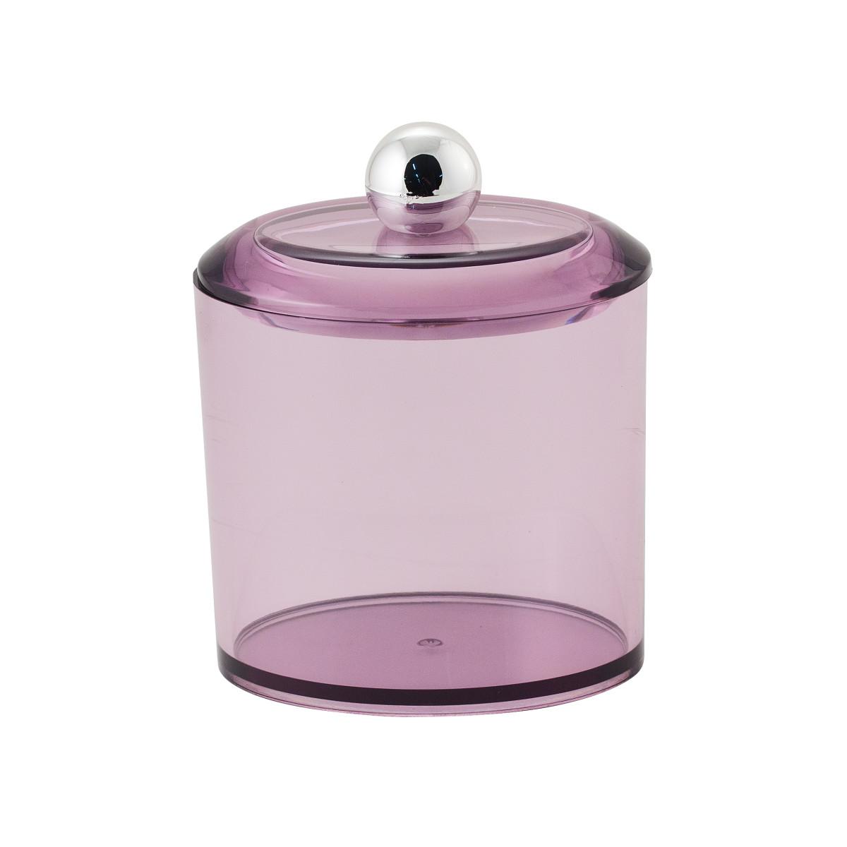 Баночка косметическая «Cotto» пластик цвет фиолетовый
