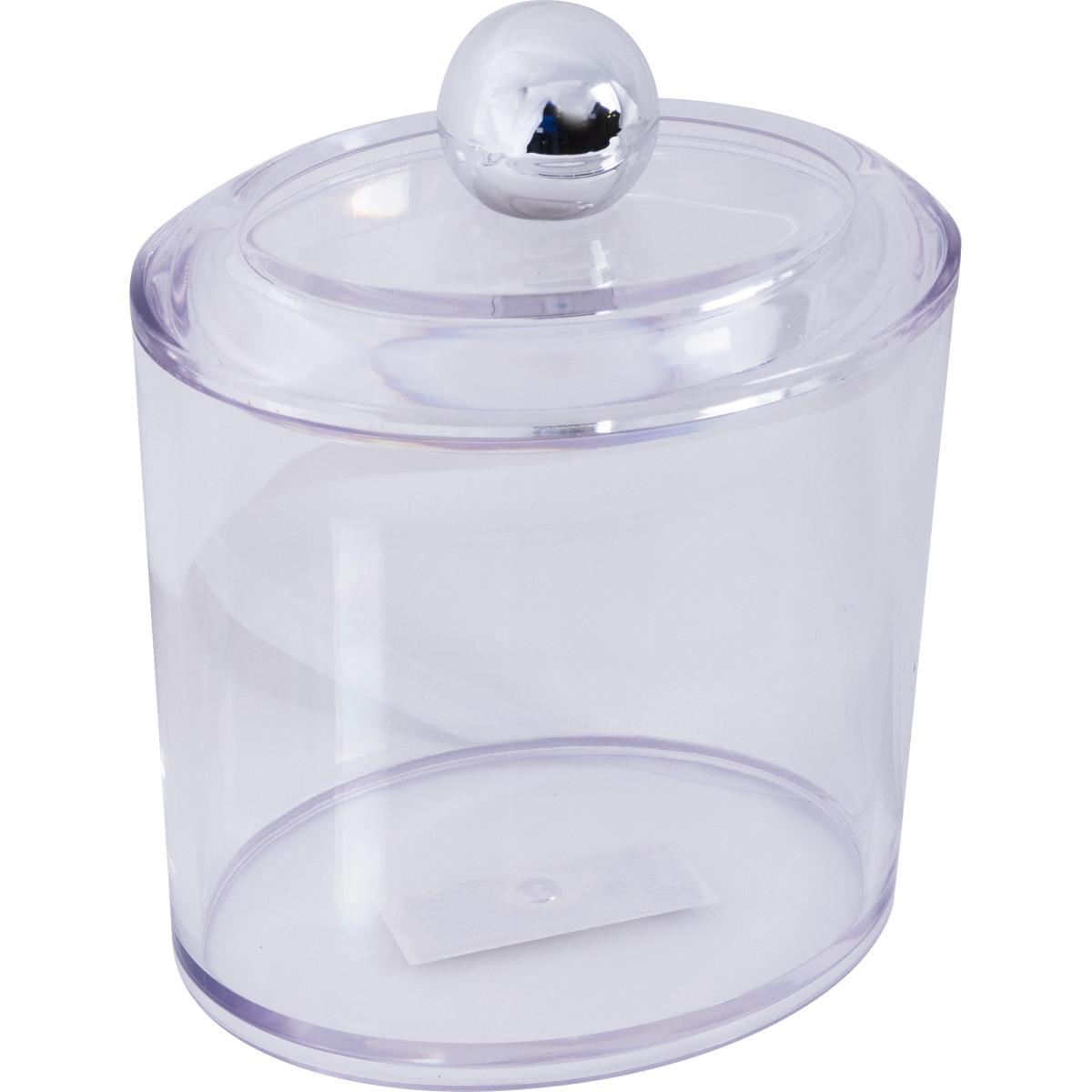 Баночка косметическая «Cotto» пластик цвет прозрачный