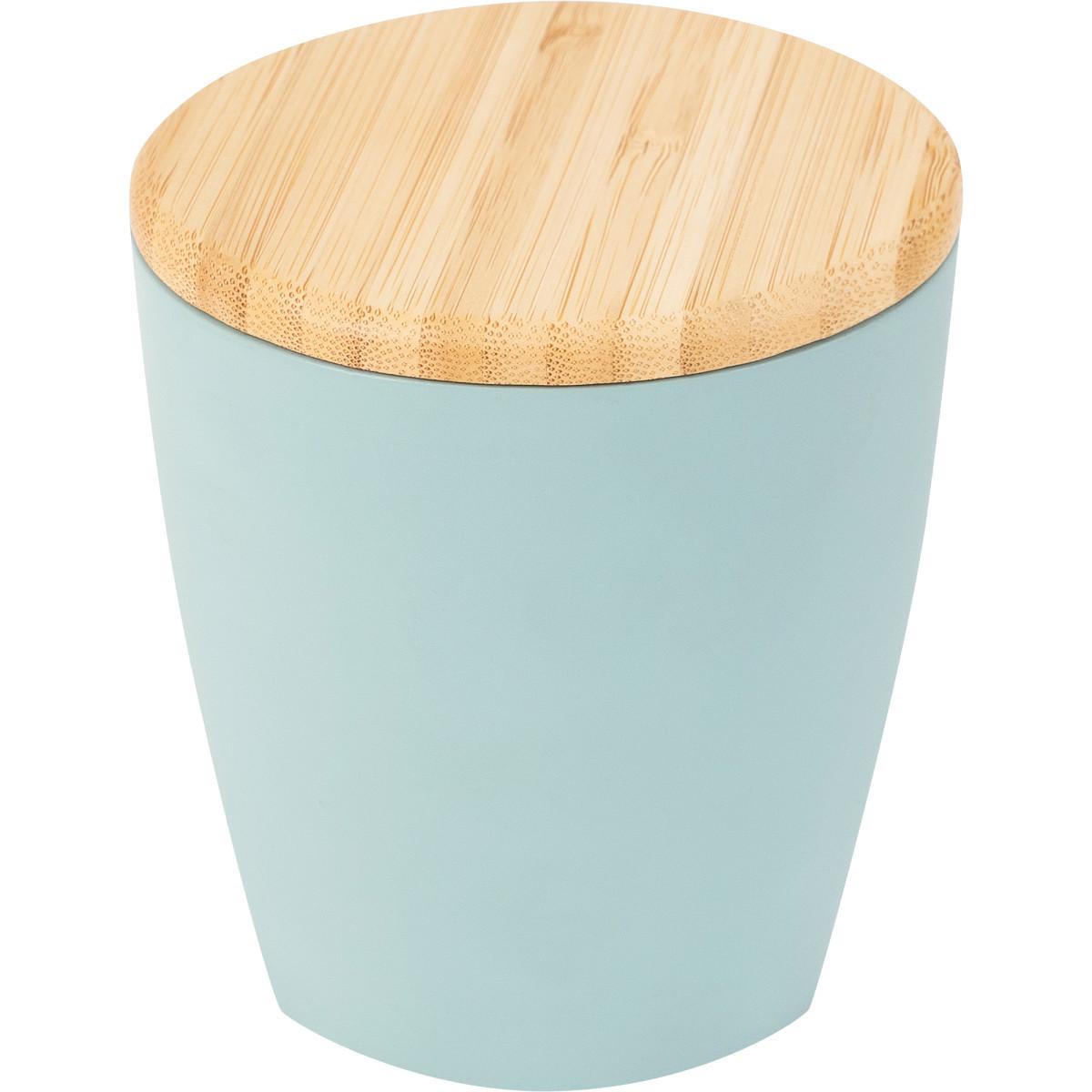 Баночка для ватных дисков «Blue Lagoon» цвет голубой