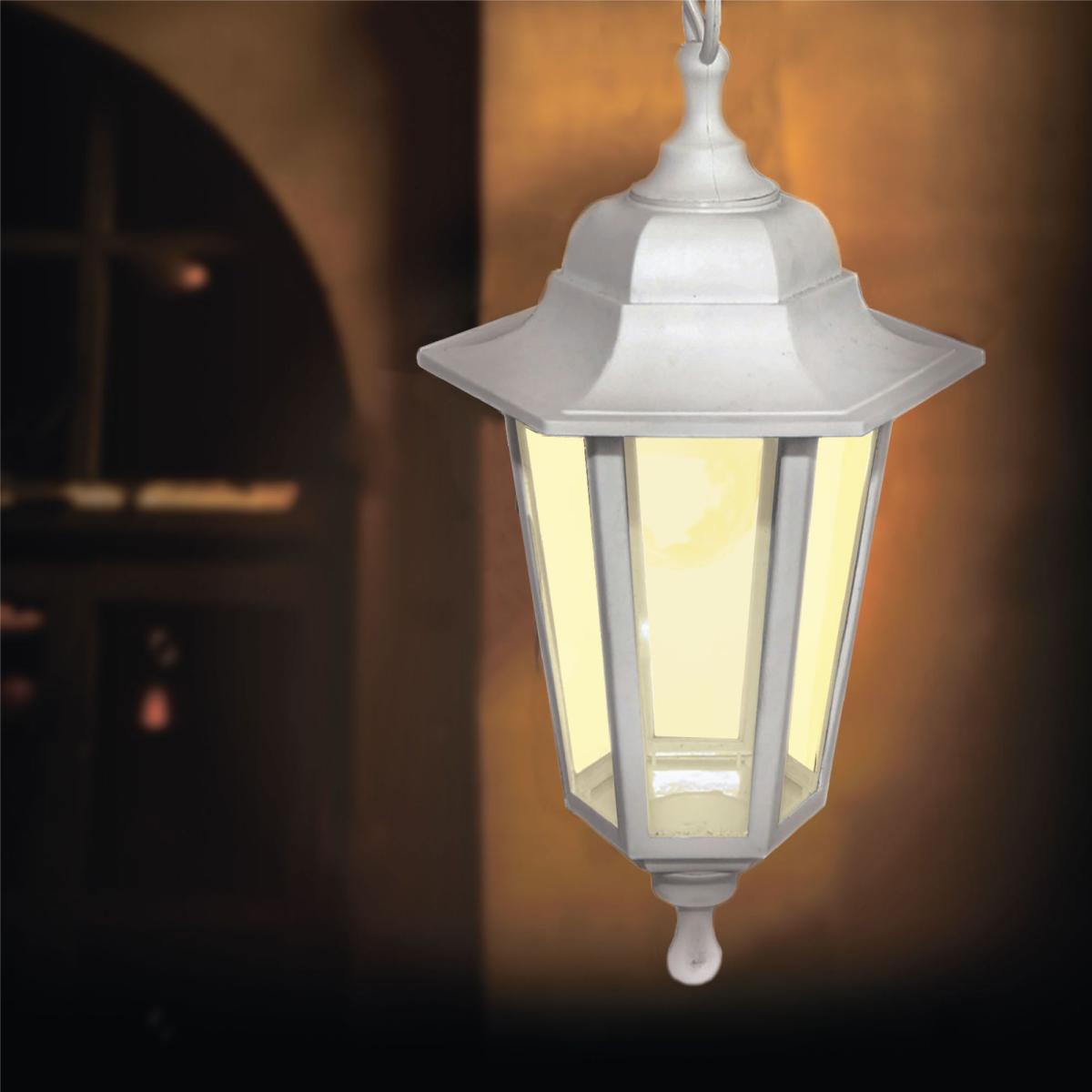 Подвесной светильник уличный Apeyron Адель 11-98 E27 цвет белый