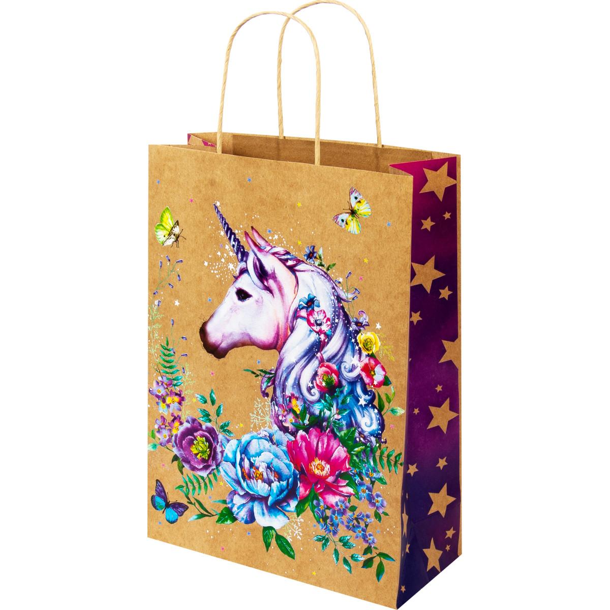 Пакет подарочный крафтовый АВ 0396.024