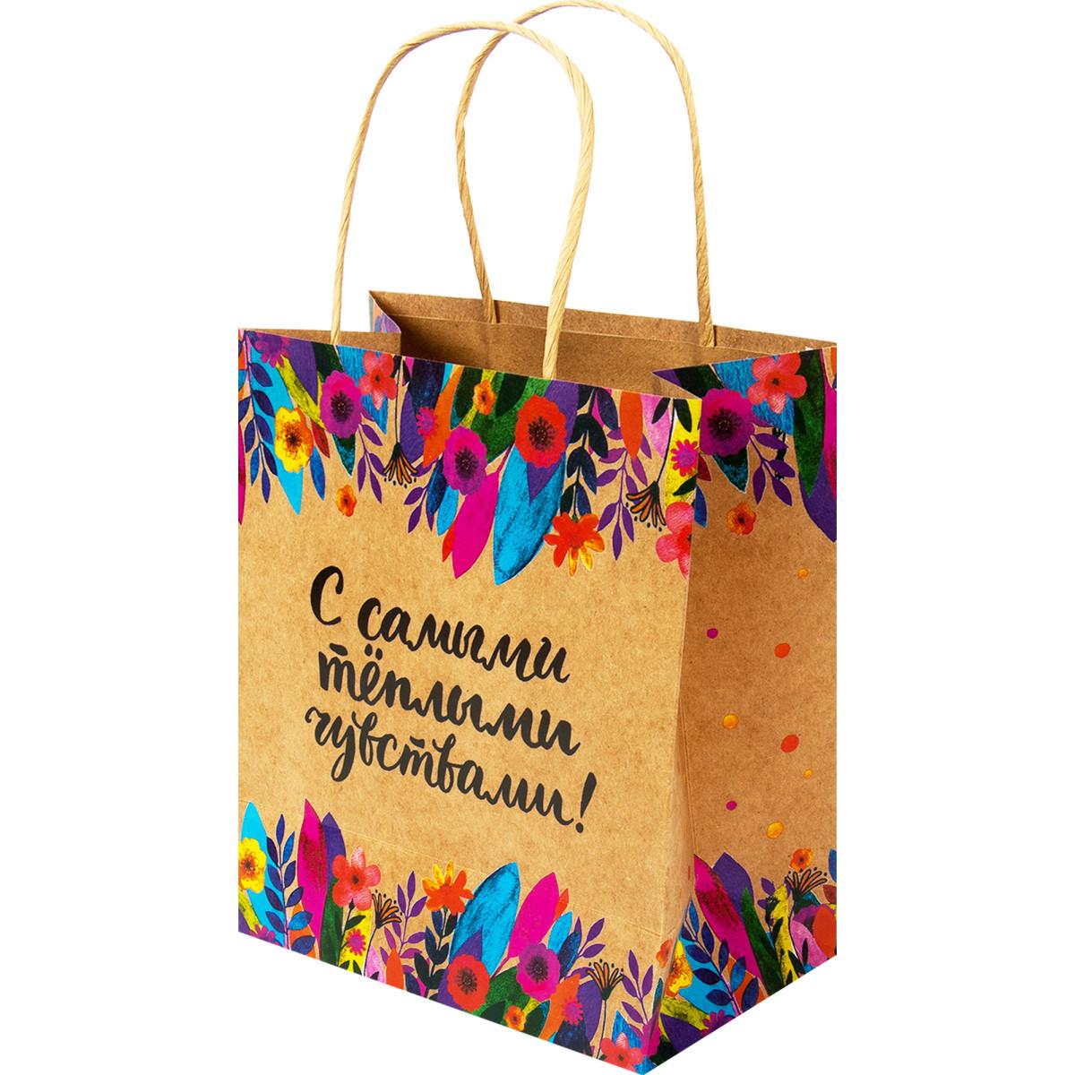 Пакет подарочный крафтовый ВC 0397.004