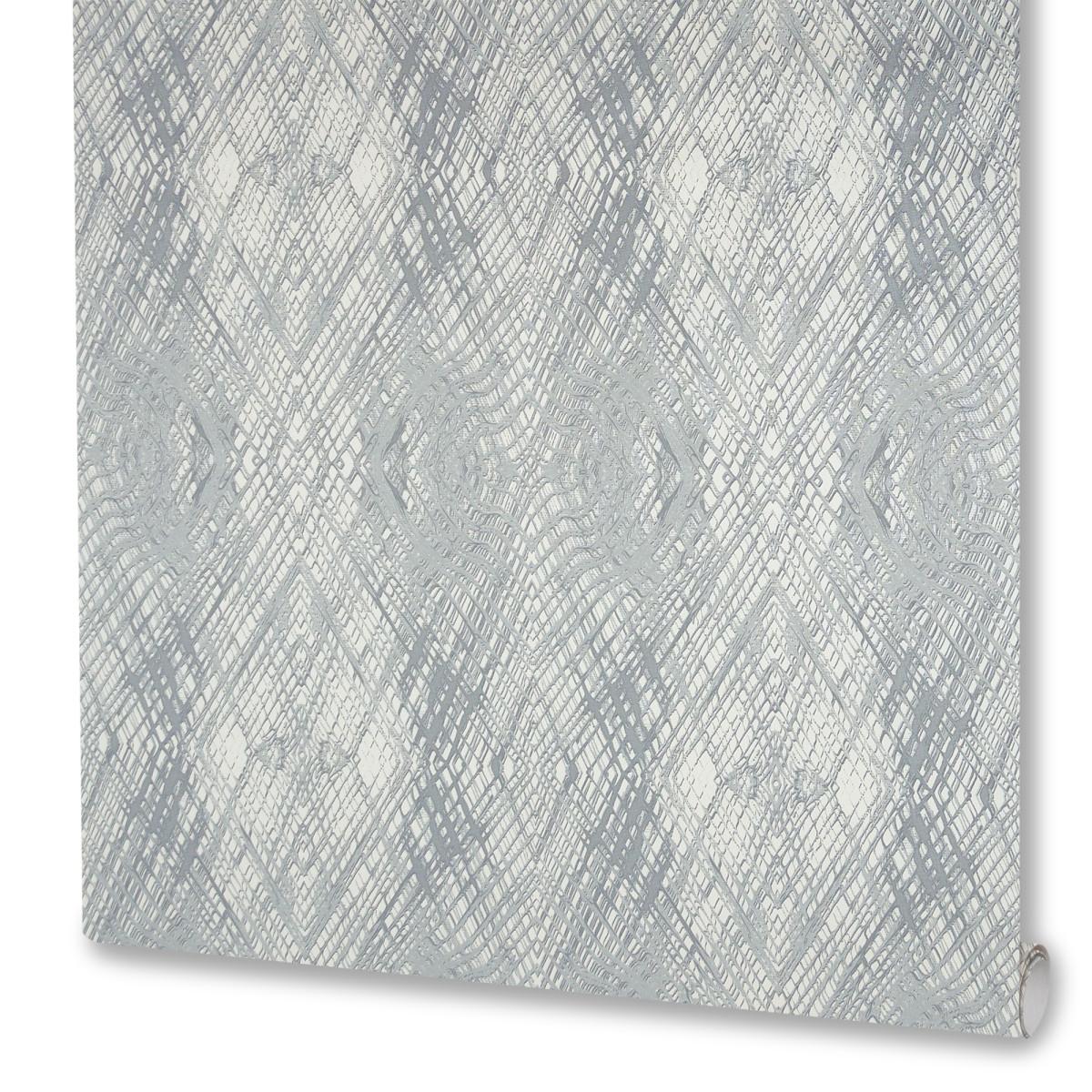 Обои флизелиновые Артекс Импульс серые 1.06 м 10076-01