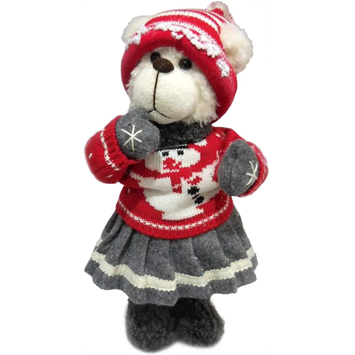 Мягкая Игрушка Медвежонок И Рождество 40