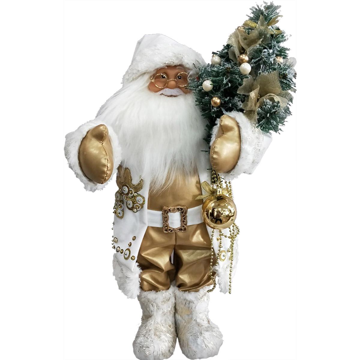 Мягкая Игрушка Дед Мороз С Елкой 46