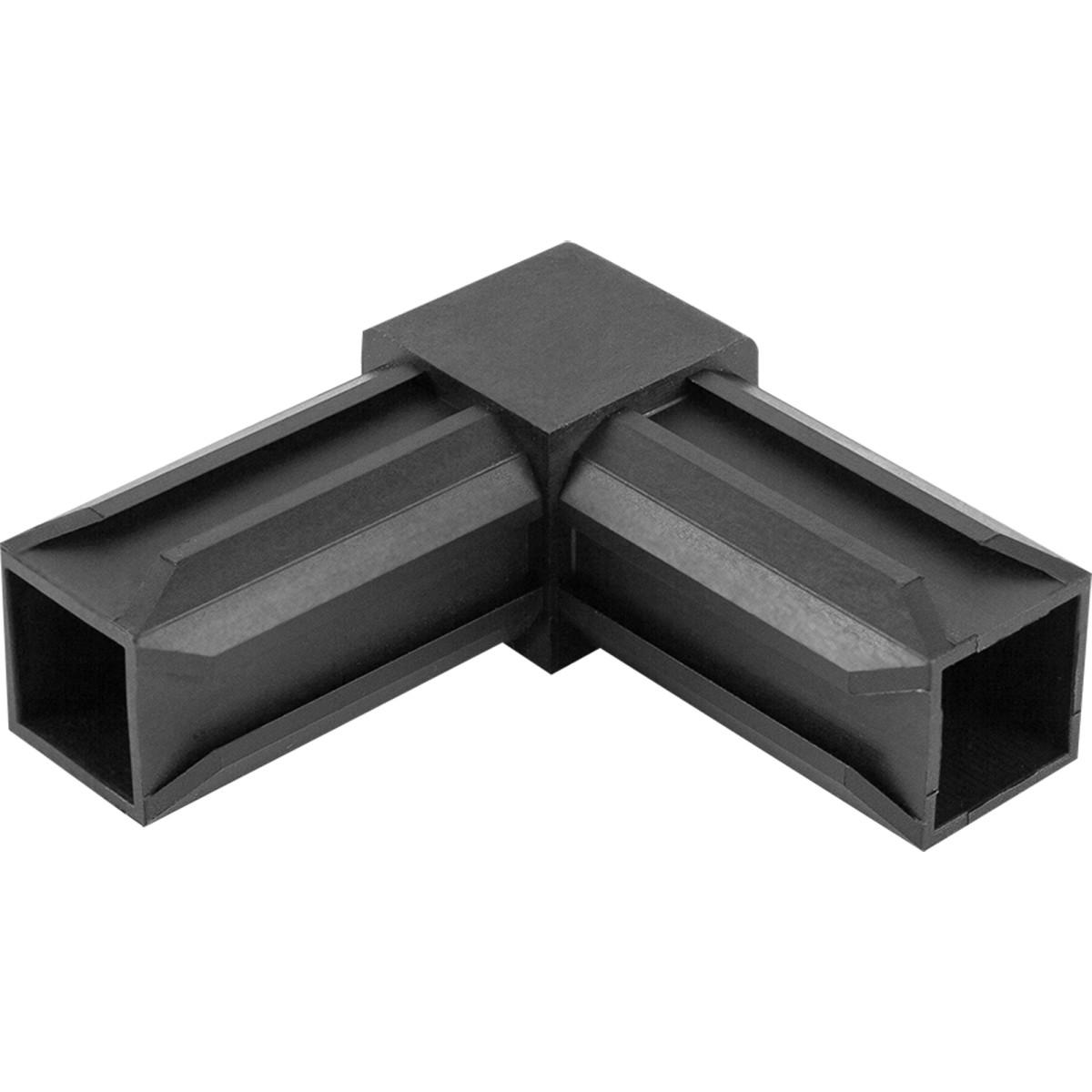 Соединитель пластиковый для трубы 30x30 мм 2-палый смежный