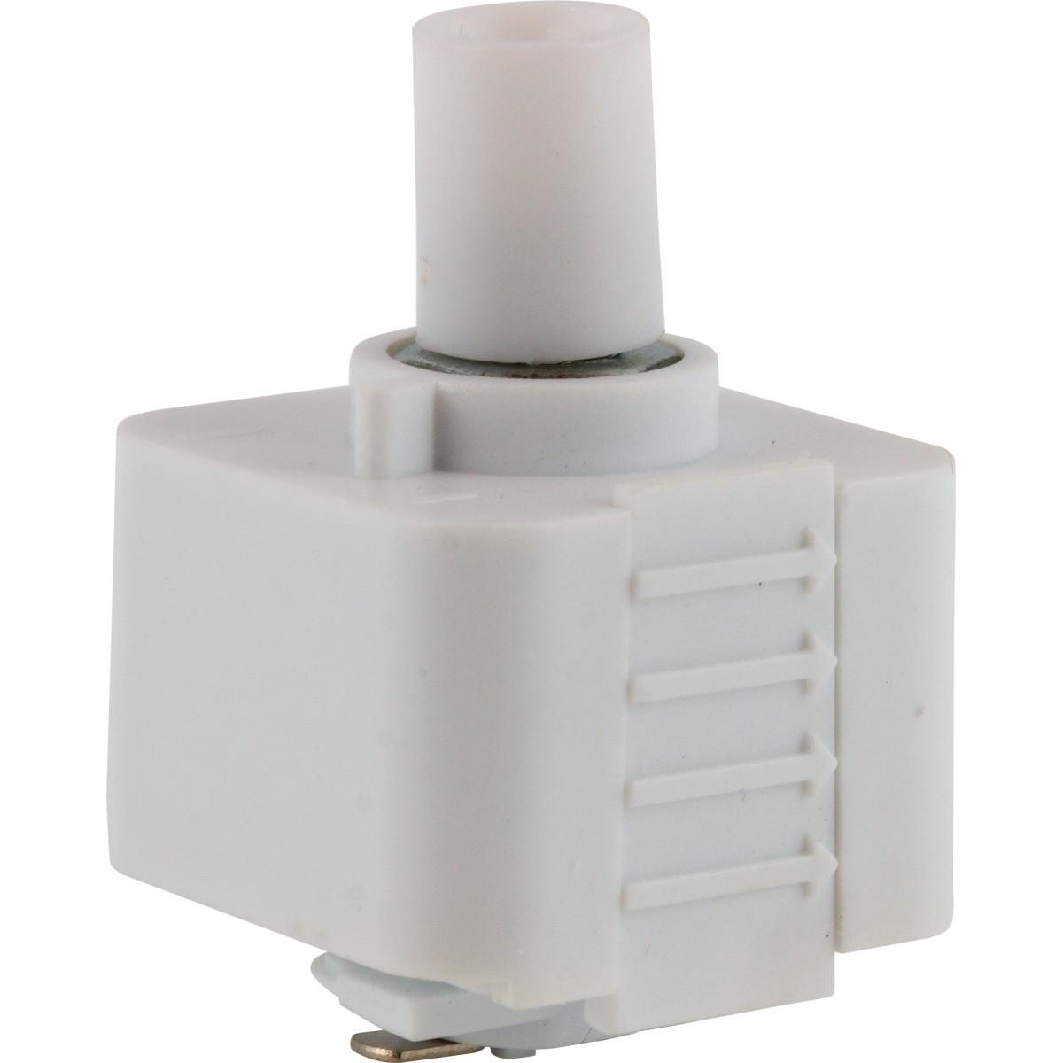 Адаптер для подключения любого подвеса к трековой системе цвет белый