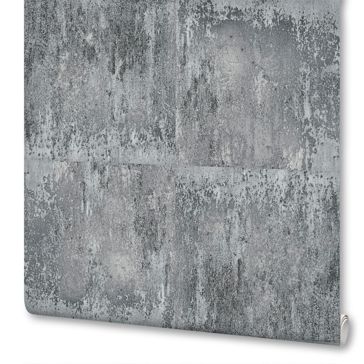 обои серые под бетон купить