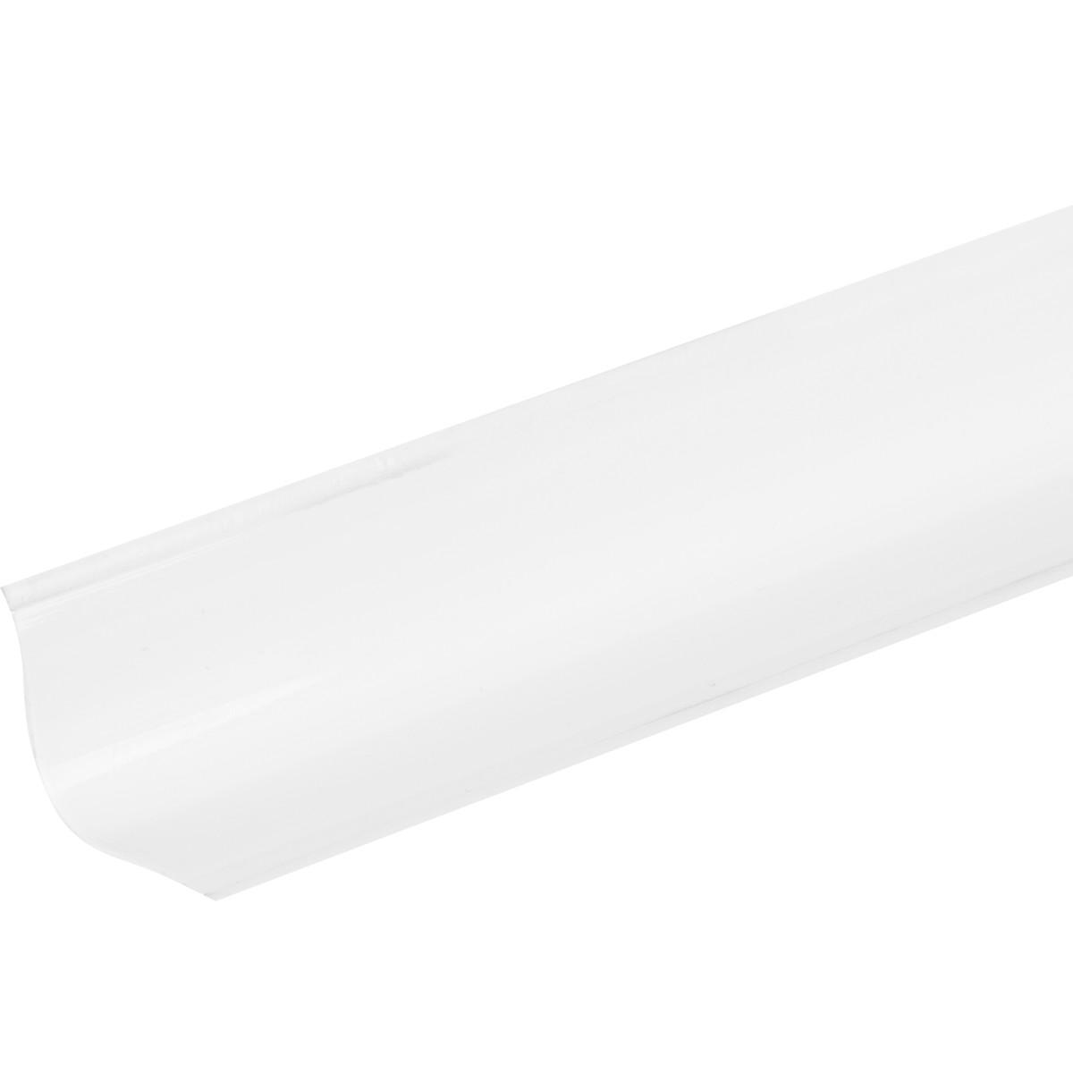 Бордюр на ванну 2 м цвет белый глянец