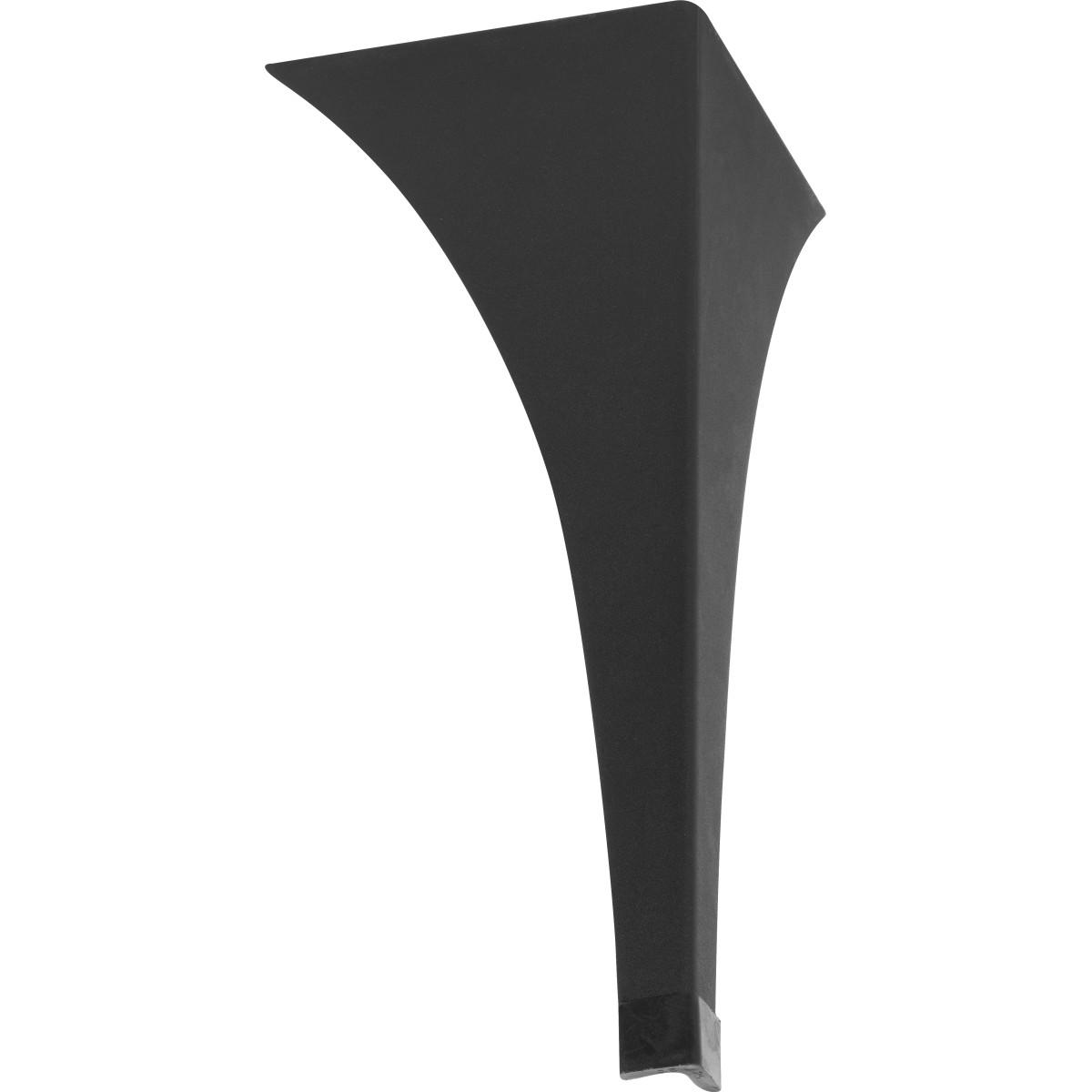 Ножка для журнального стола 400 мм цвет черный