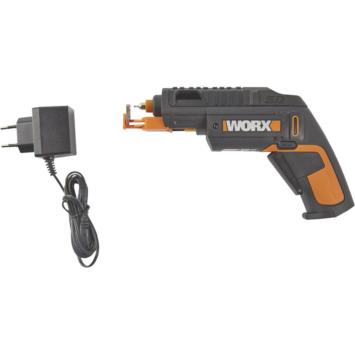 Отвертка Аккумуляторная Worx Wx255 Sd Slide Driver 4 В Li-Ion 15 Ач