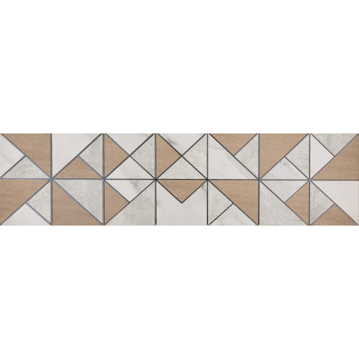 Керамогранит Loft «Мозаик» 60x15 см 2 шт.