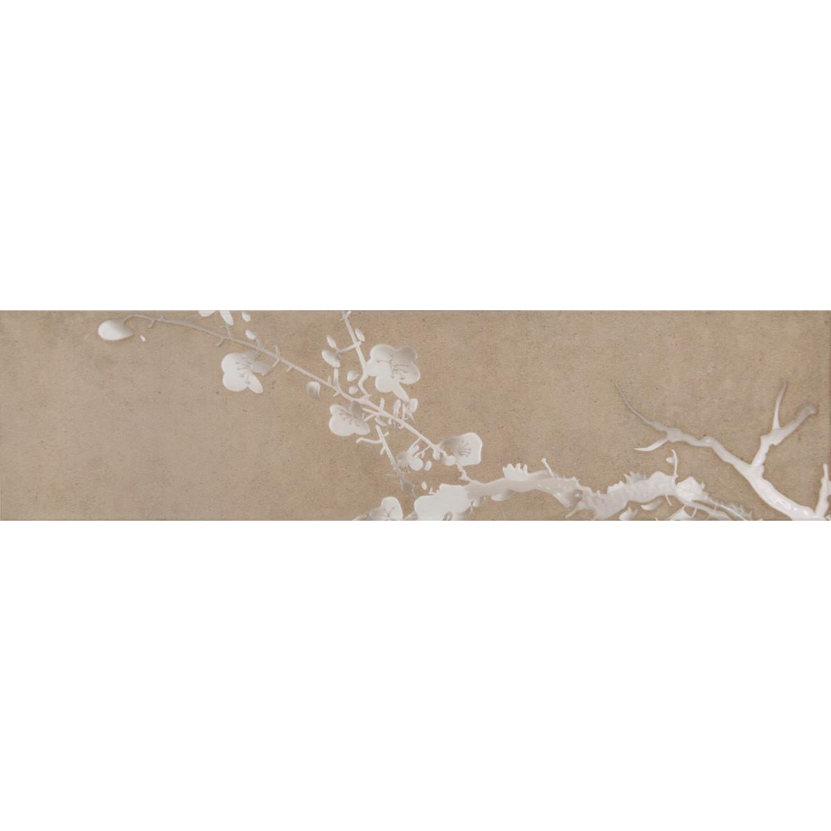 Керамогранит Sakura «Какао» 60x15 см 4 шт.