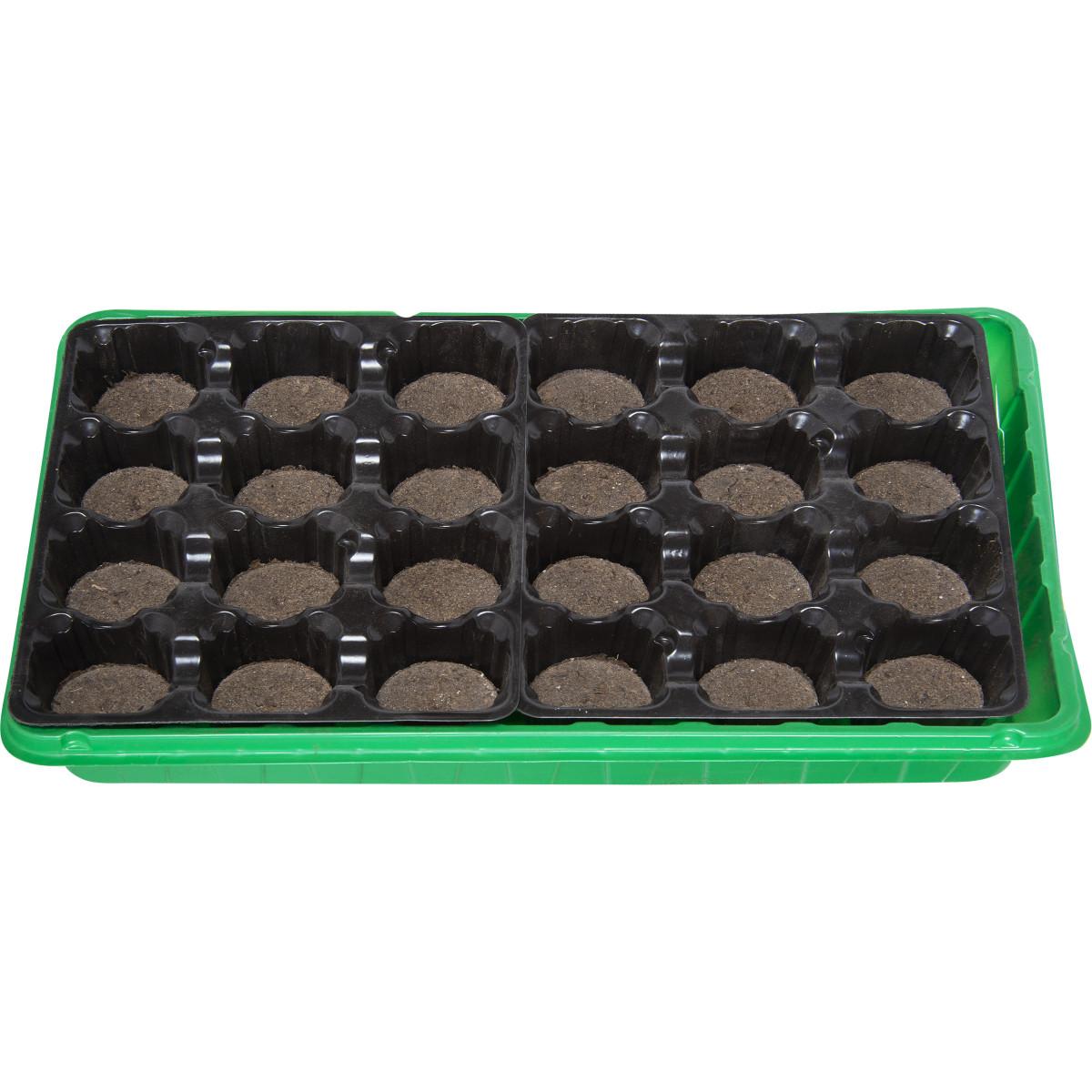 Набор для рассады с торфяными таблетками 24 шт.