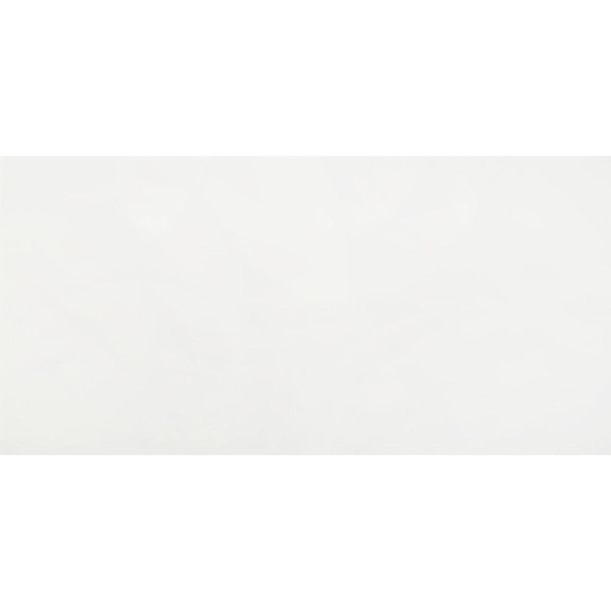 Плитка настенная Айс 30х60 см 1.26 м² цвет белый глянцевый