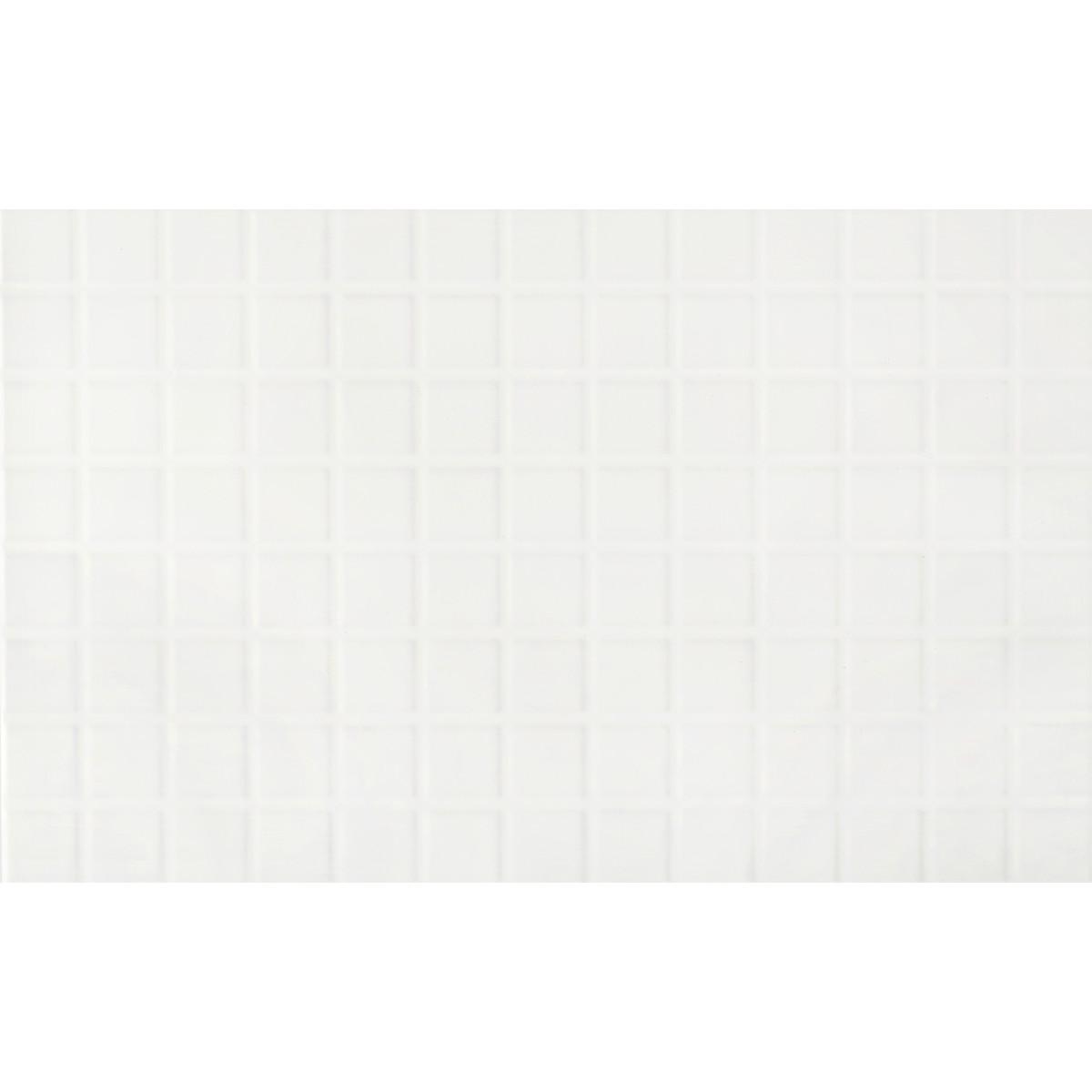 Плитка настенная Artens Арктика 3D 25х40 см 1.1 м² цвет белый матовый
