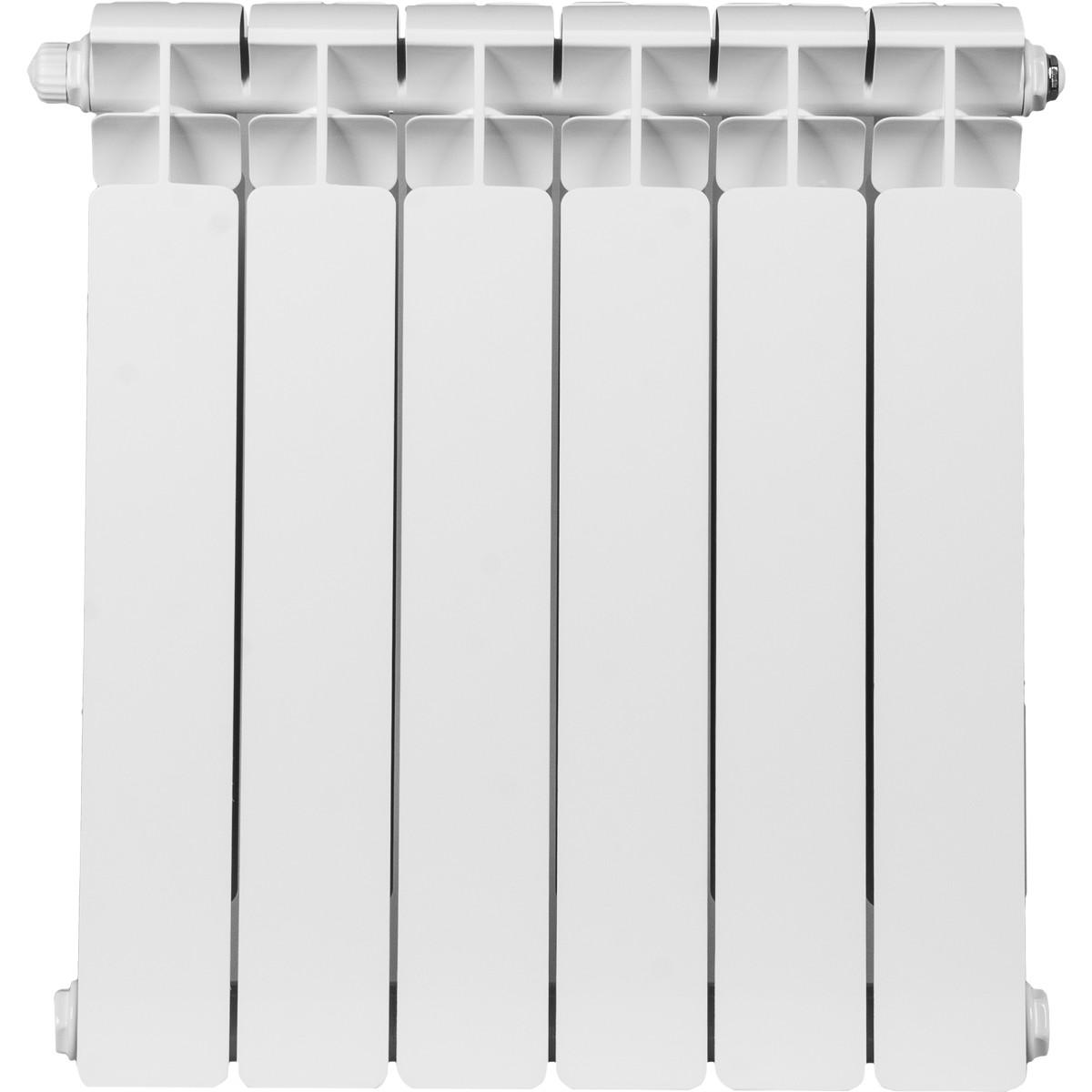 Радиатор Rifar В500 6 секций нижнее подключение 500 мм биметалл