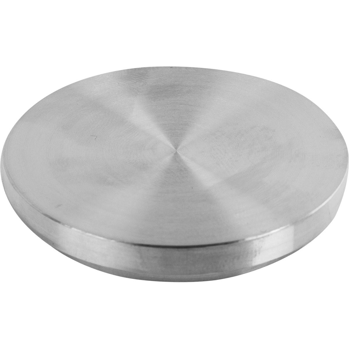 Крепление для стеклянных столешниц Ø50 мм алюминий цвет хром
