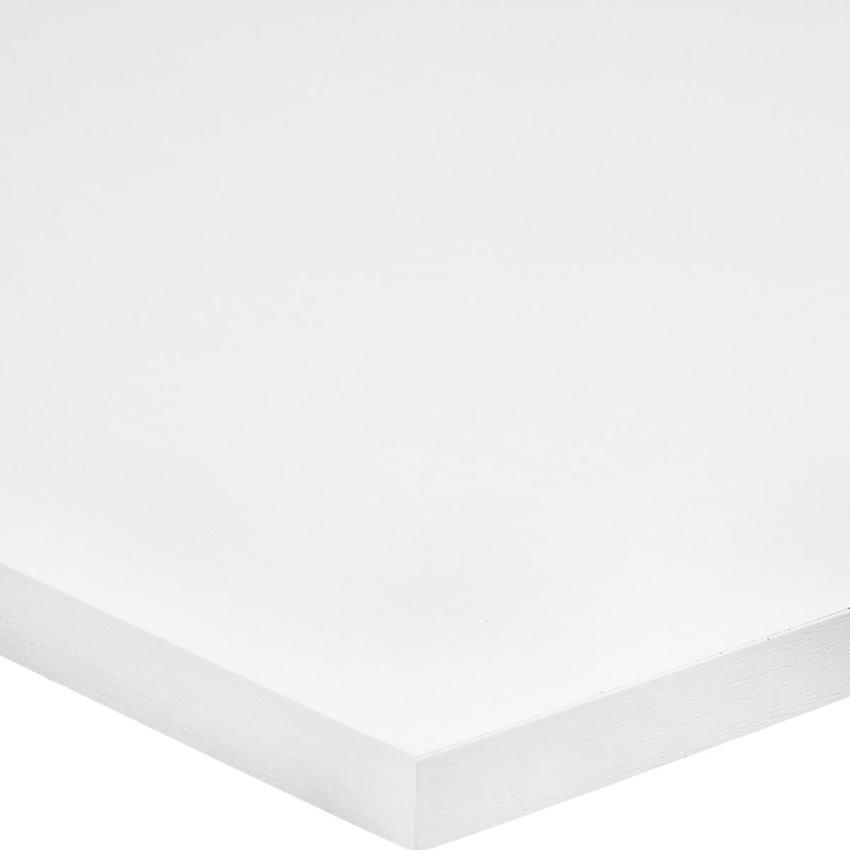 Деталь мебельная 1200x400x16 мм ЛДСП белый премиум кромка со всех сторон