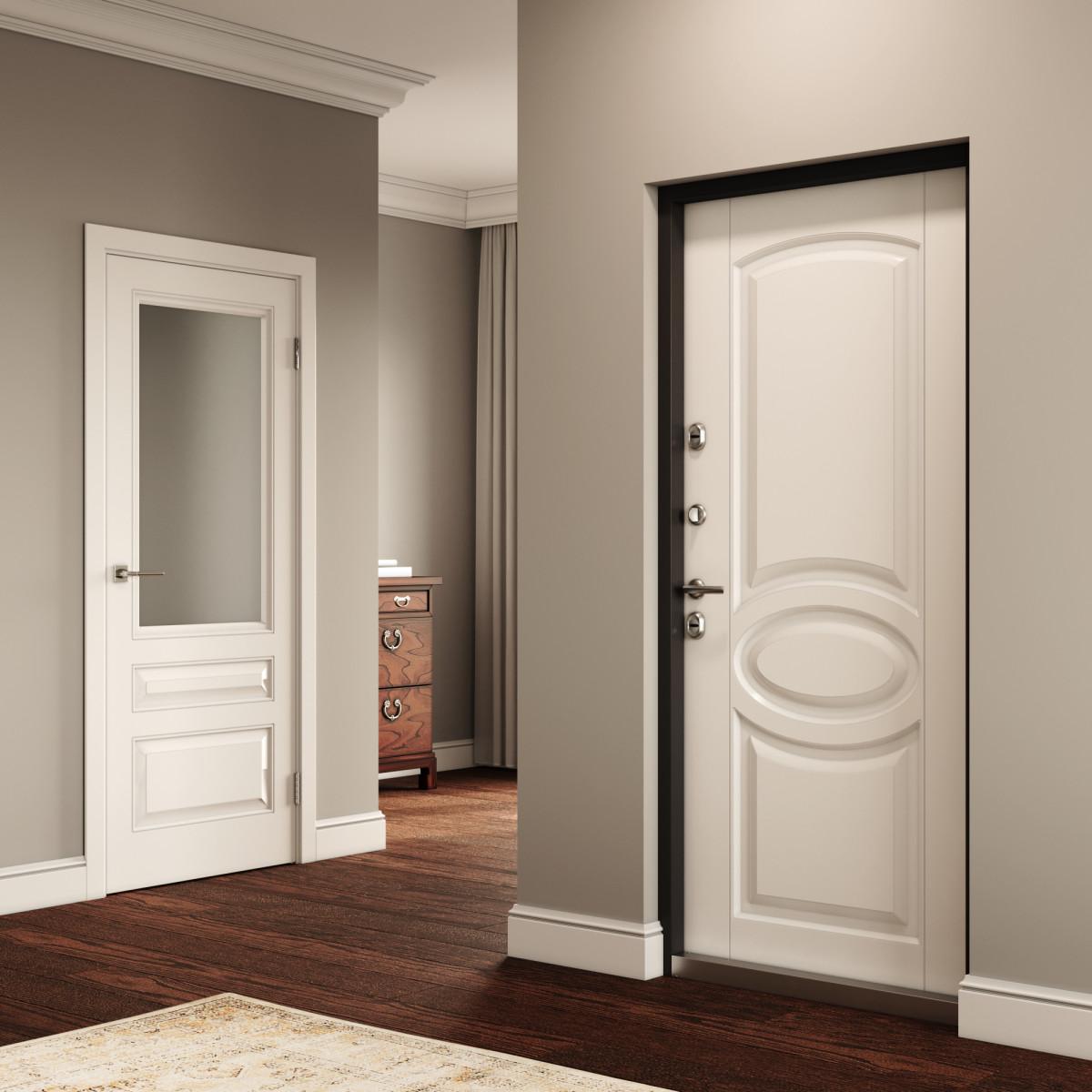 дверь тамбурная металлическая купить
