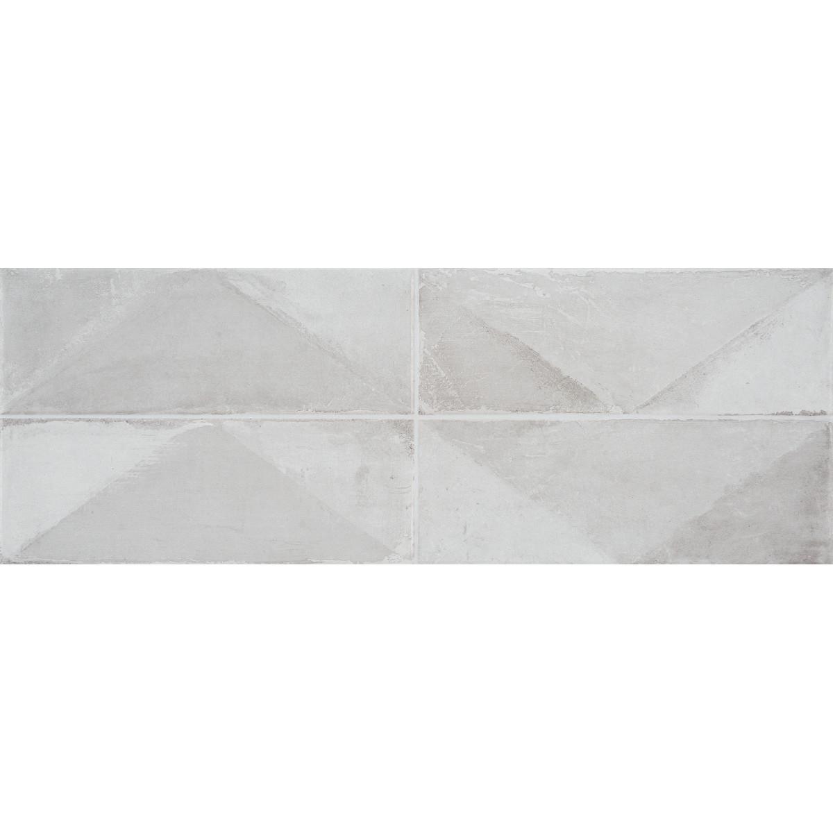 Плитка настенная Concept Blanco 25х70 см 1.23 м² цвет серый